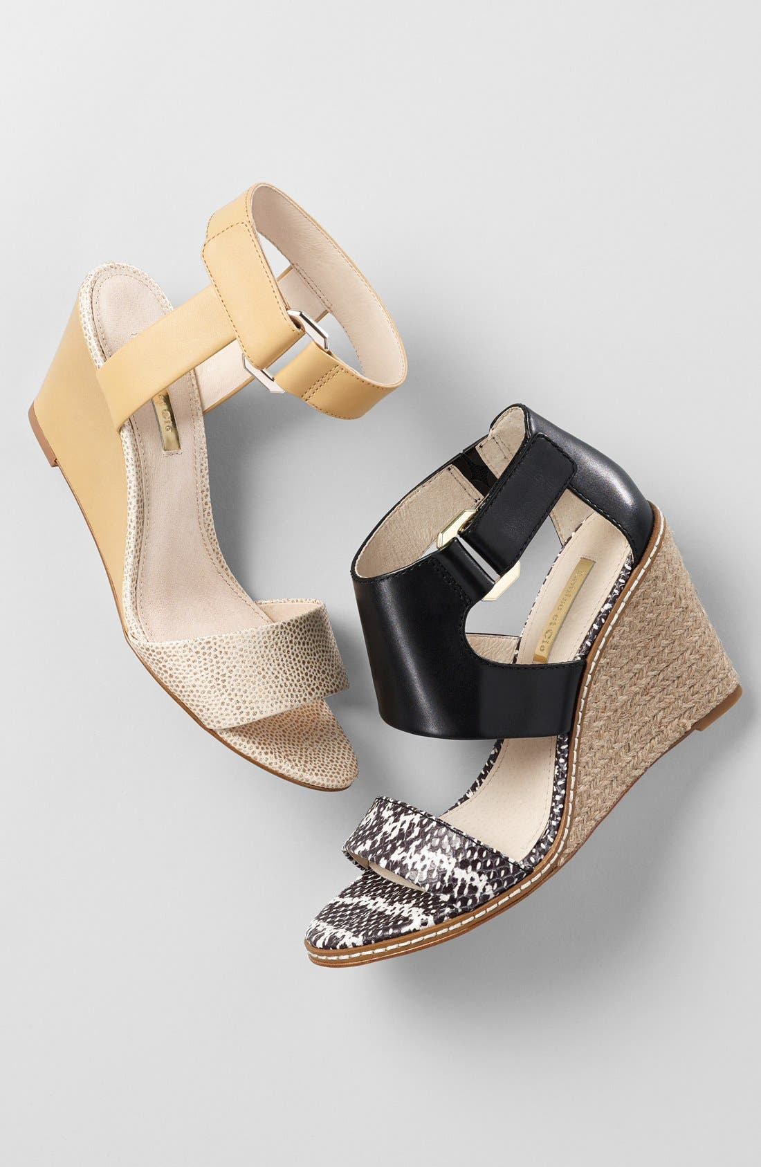 Alternate Image 5  - Louise et Cie 'Phiona' Leather Ankle Strap Wedge Sandal (Women)