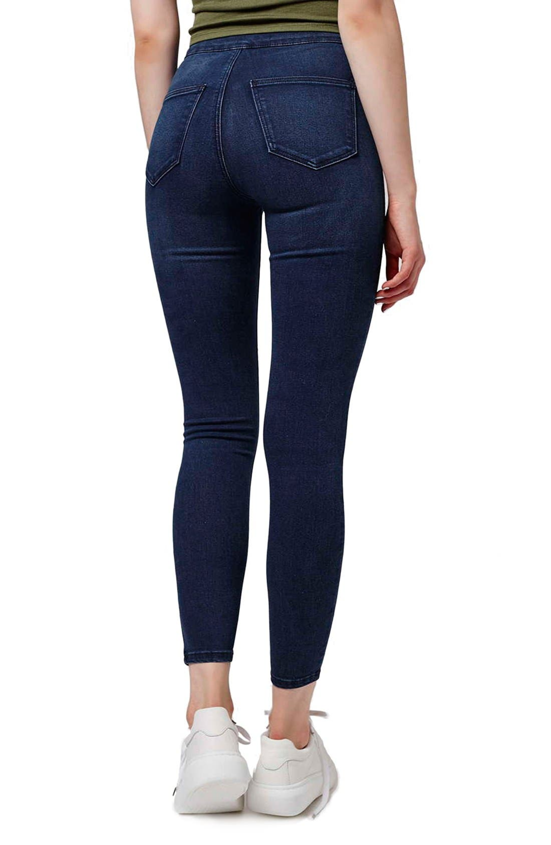 Alternate Image 3  - Topshop 'Joni' Crop Super Skinny Jeans (Petite)