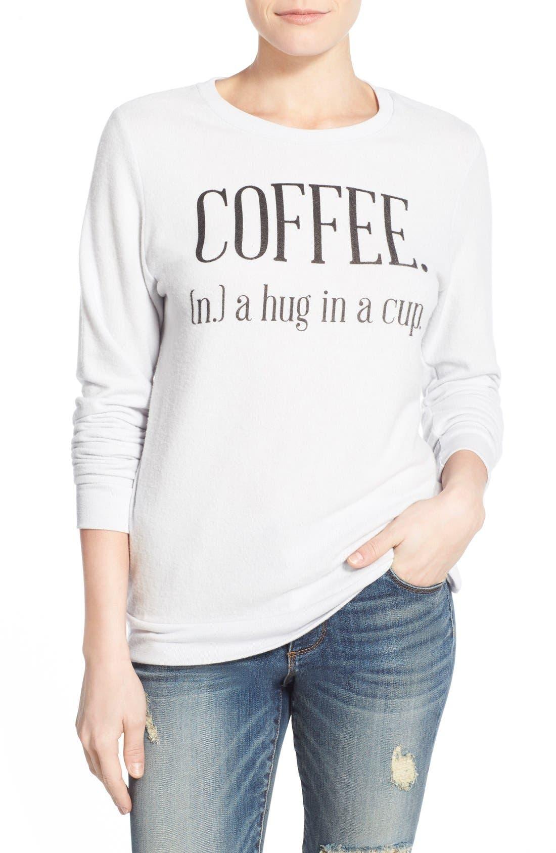 Alternate Image 1 Selected - Signorelli 'Yummy Fleece' Graphic Sweatshirt
