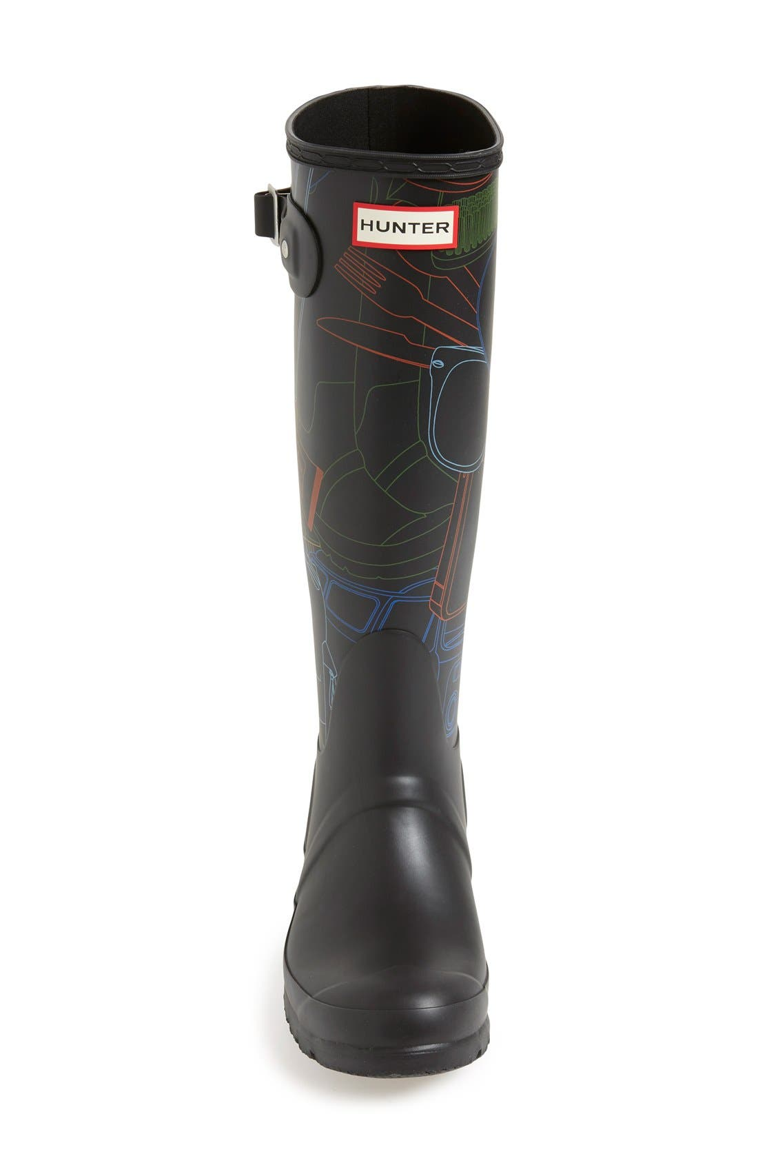 Alternate Image 3  - Hunter 'Original Tall - Festival Print' Rain Boot (Women)