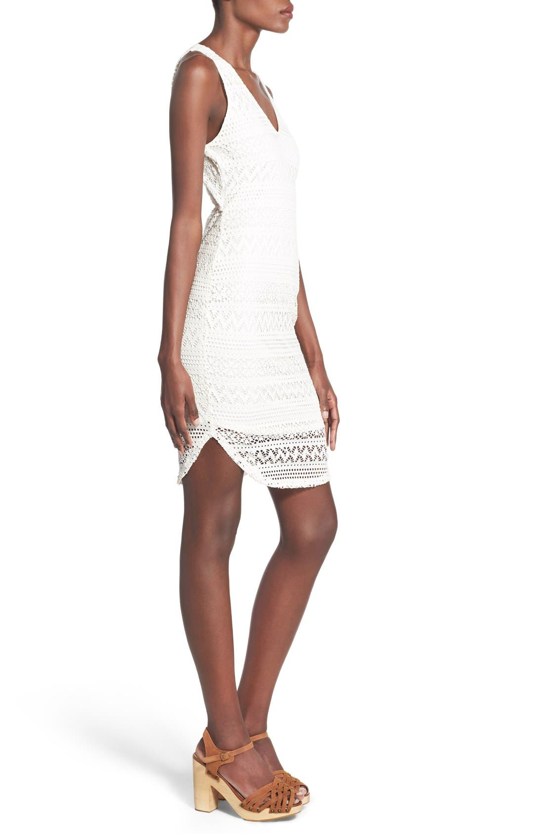 Alternate Image 3  - Lush Lace Open Back Sheath Dress