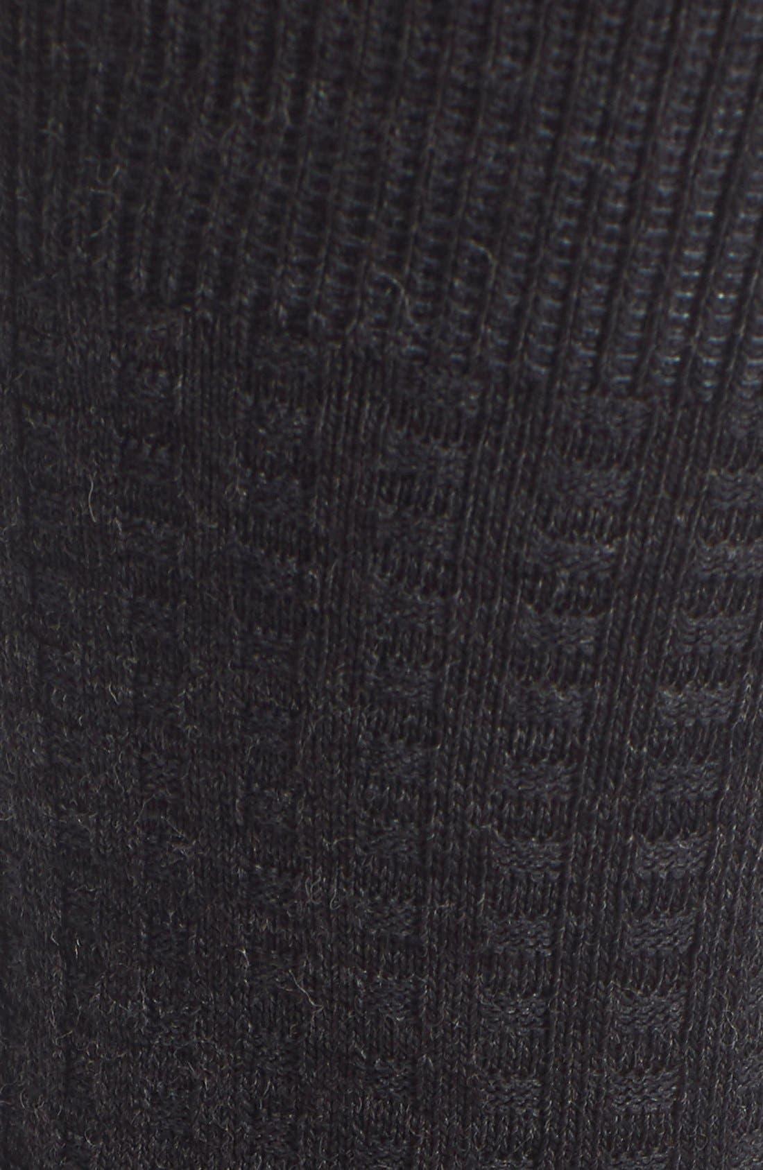Alternate Image 2  - Smartwool Textured Crew Socks