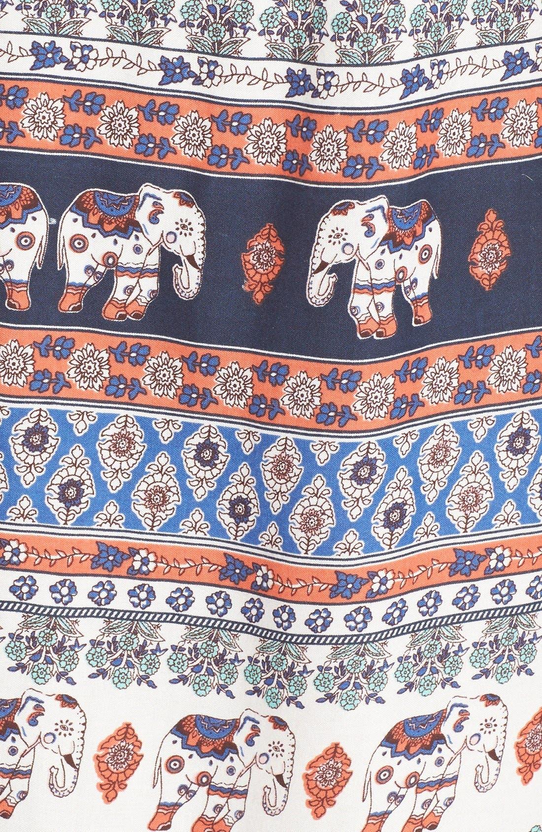 Alternate Image 5  - Band of Gypsies Print Mock Neck Shift Dress