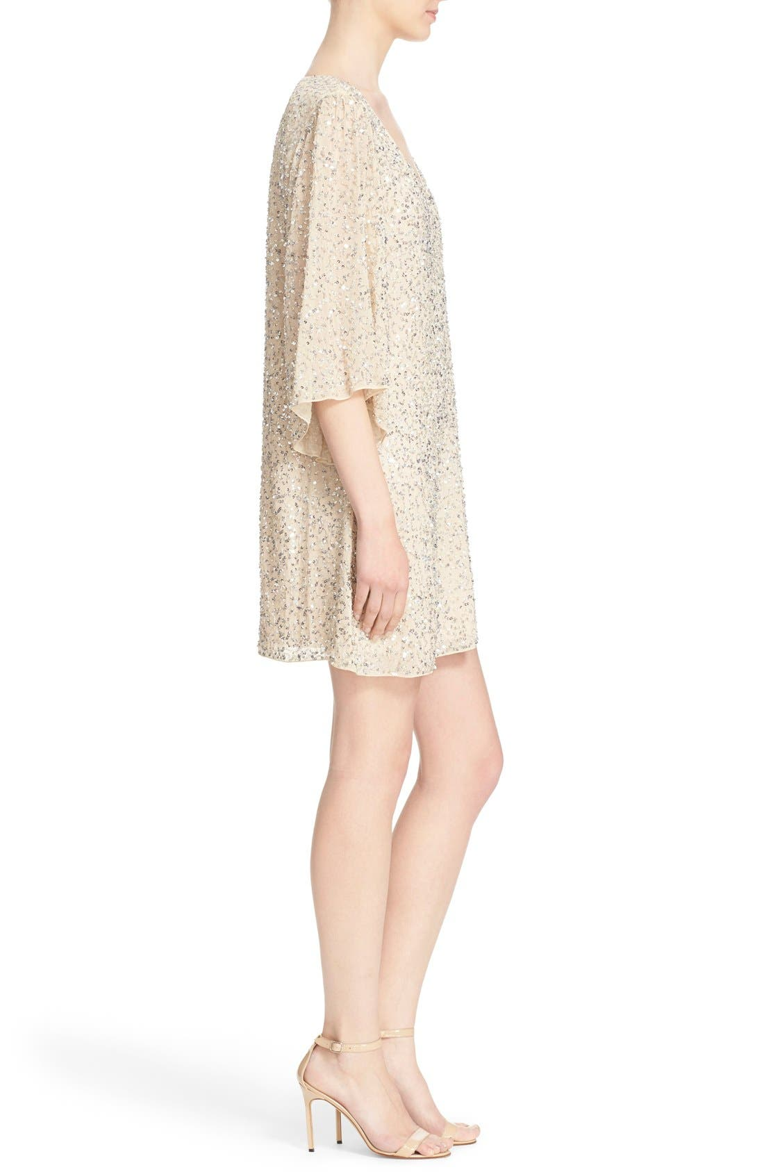 Alternate Image 3  - Alice + Olivia 'Shary' Sequin Shift Dress