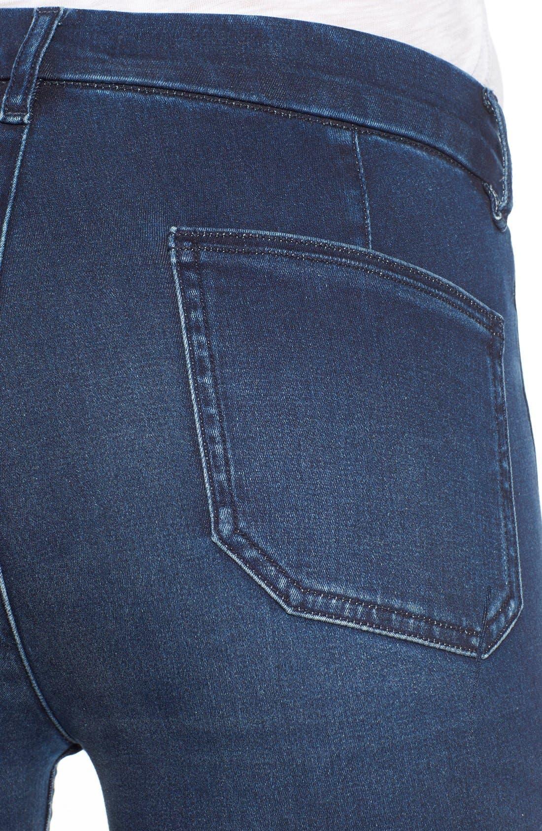 Alternate Image 4  - M.i.h. Jeans 'Superfit Marrakesh' Flare Jeans (Circle Blue)