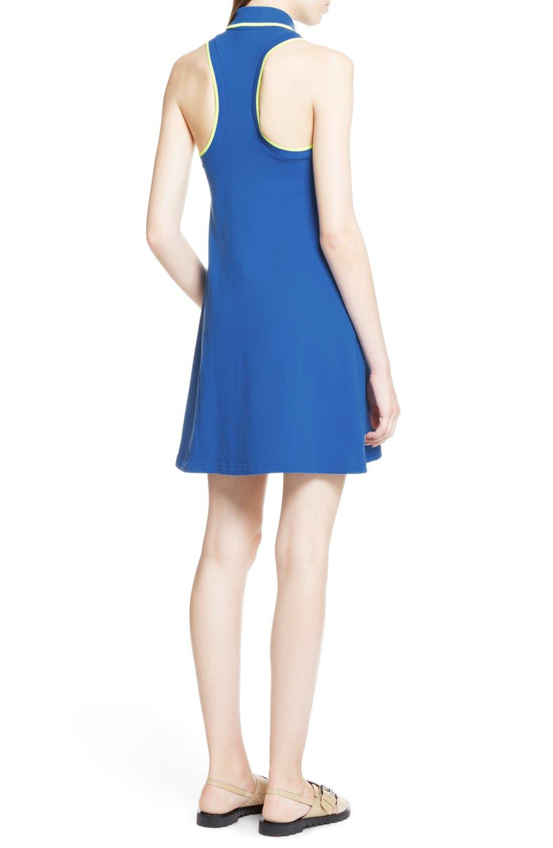 Alternate Image 2  - KENZO Sleeveless Cotton Polo Dress