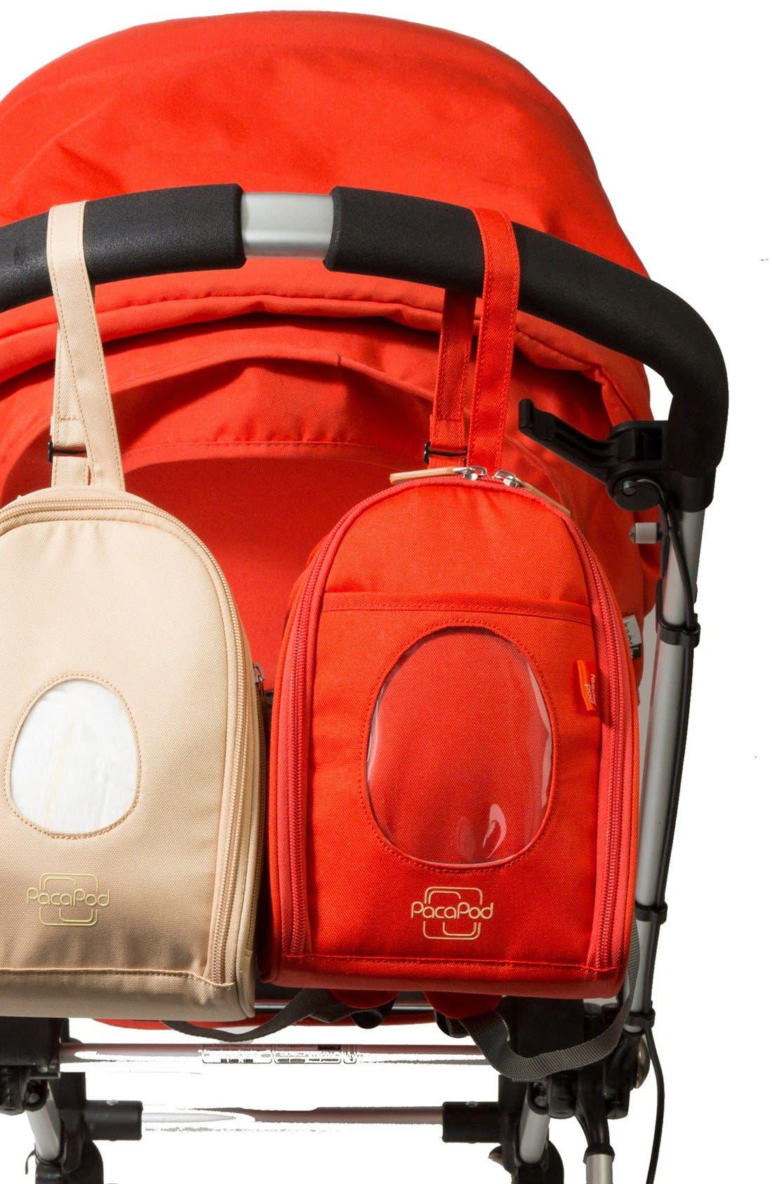 Alternate Image 6  - PacaPod 'Firenze' Leather Diaper Bag