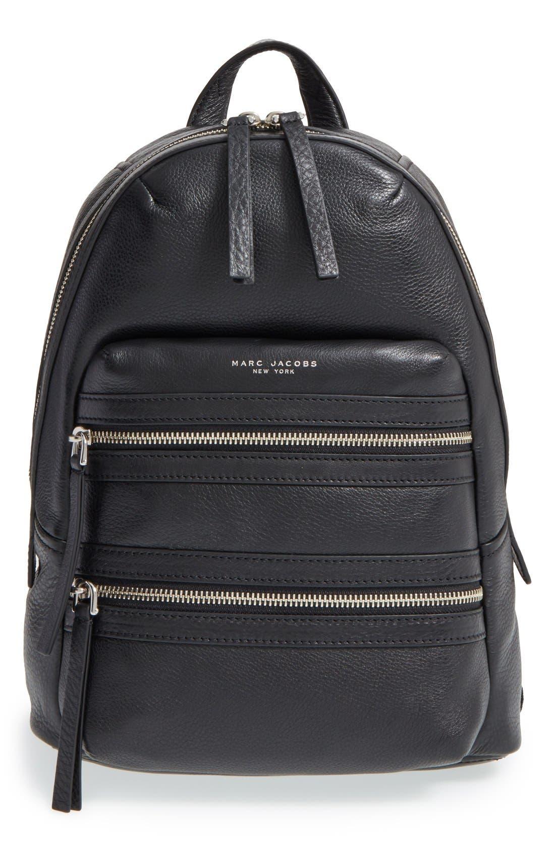 Alternate Image 1 Selected - MARC JACOBS 'Biker' Leather Backpack