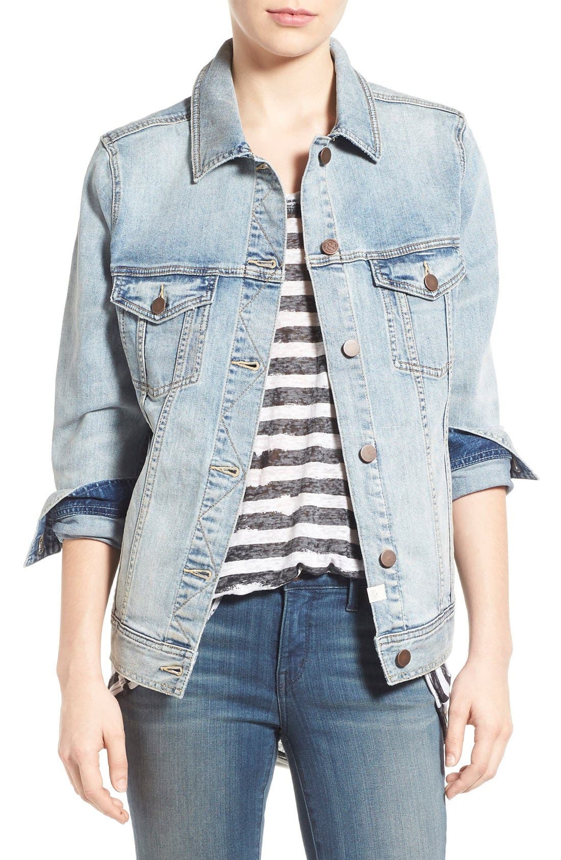 Treasure & Bond Relaxed Denim Jacket