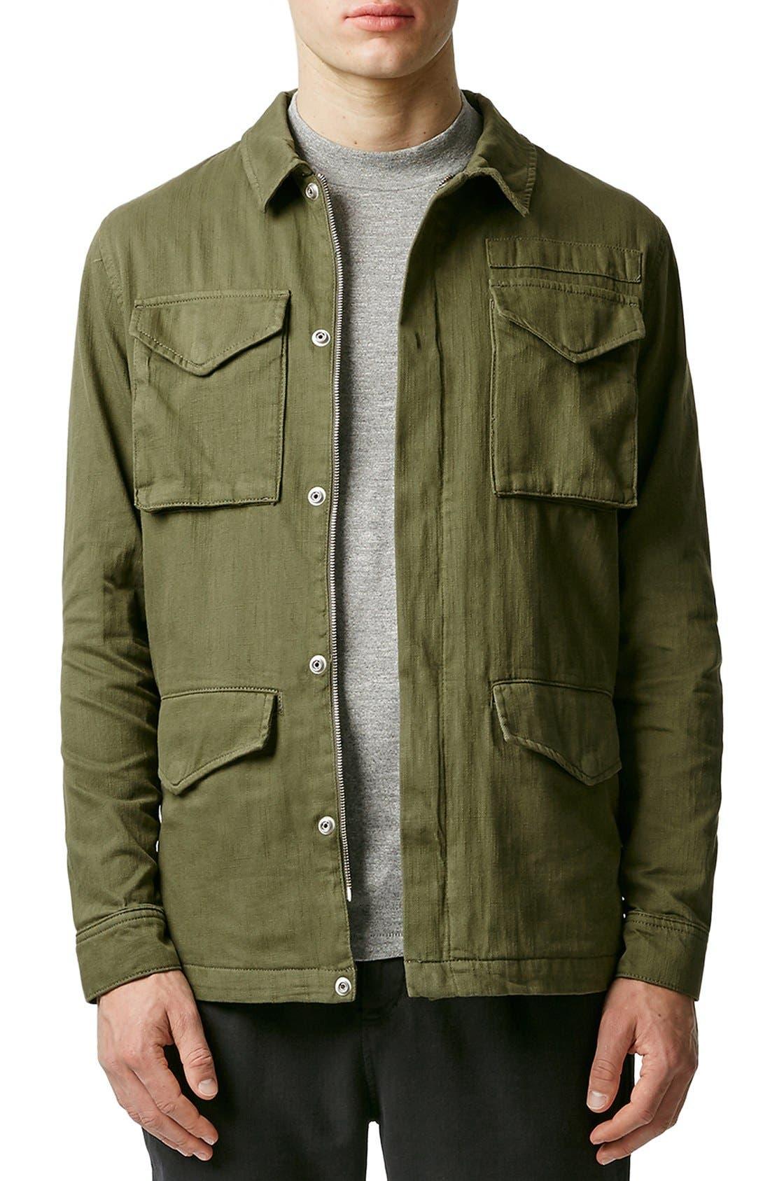 Alternate Image 1 Selected - Topman M-65 Field Jacket
