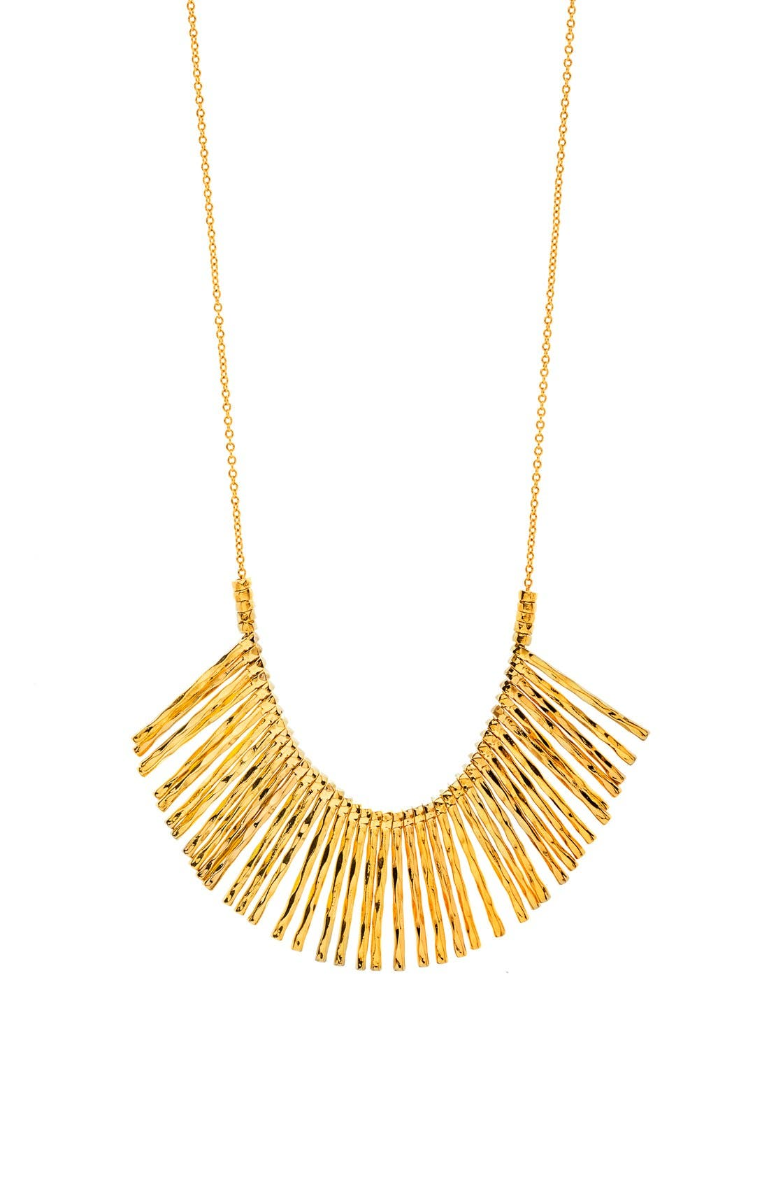 gorjana 'Kylie' Fan Necklace