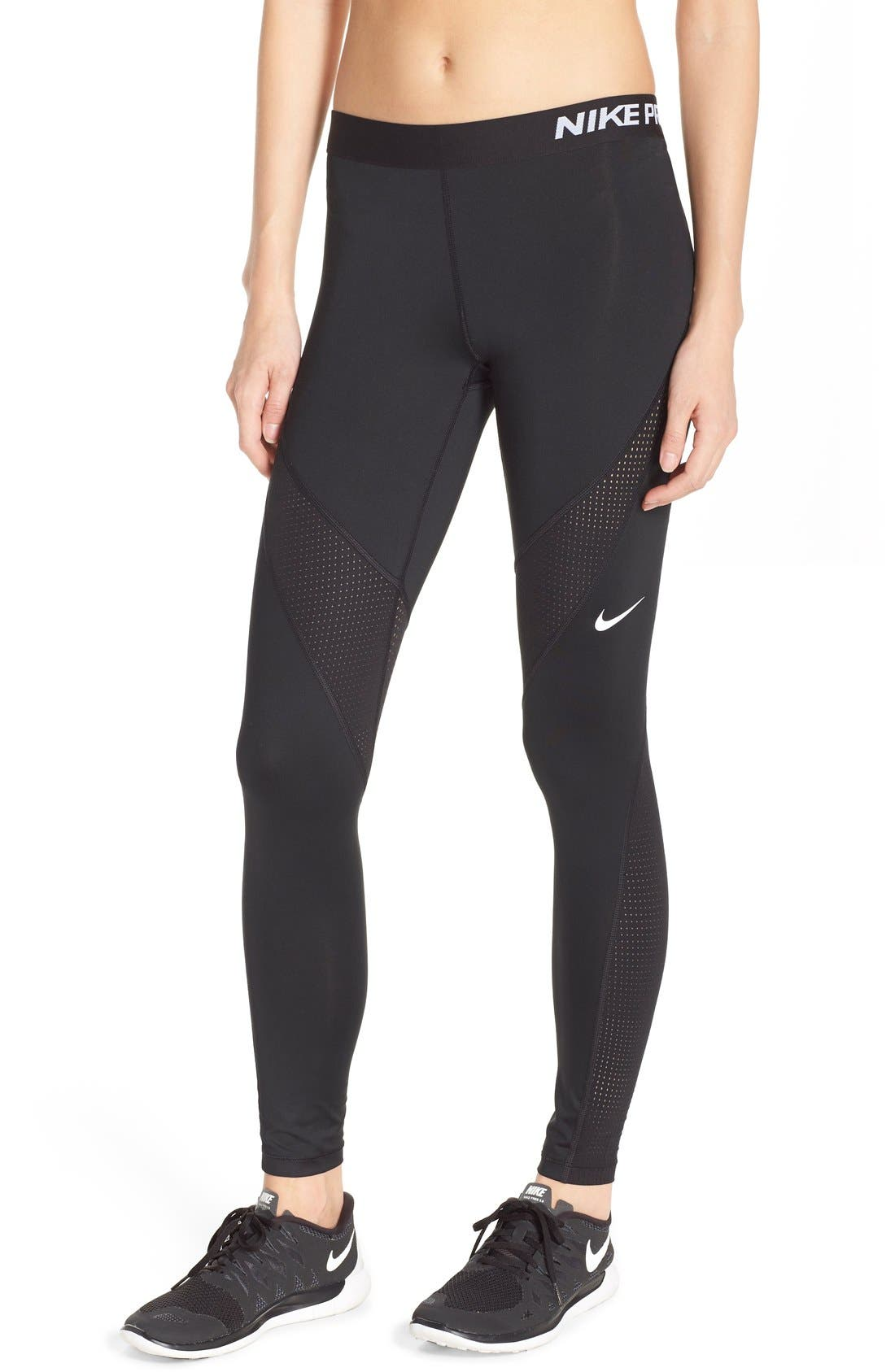 Alternate Image 1 Selected - Nike 'Pro Hypercool' Tights