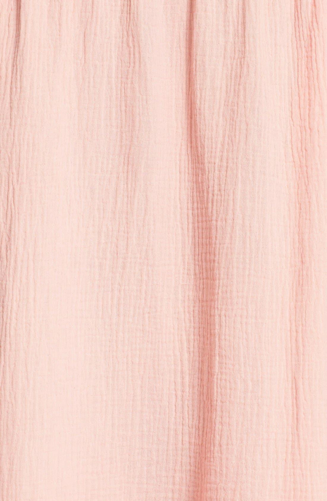 Alternate Image 5  - Rebecca Taylor Off the Shoulder Cotton Swing Dress