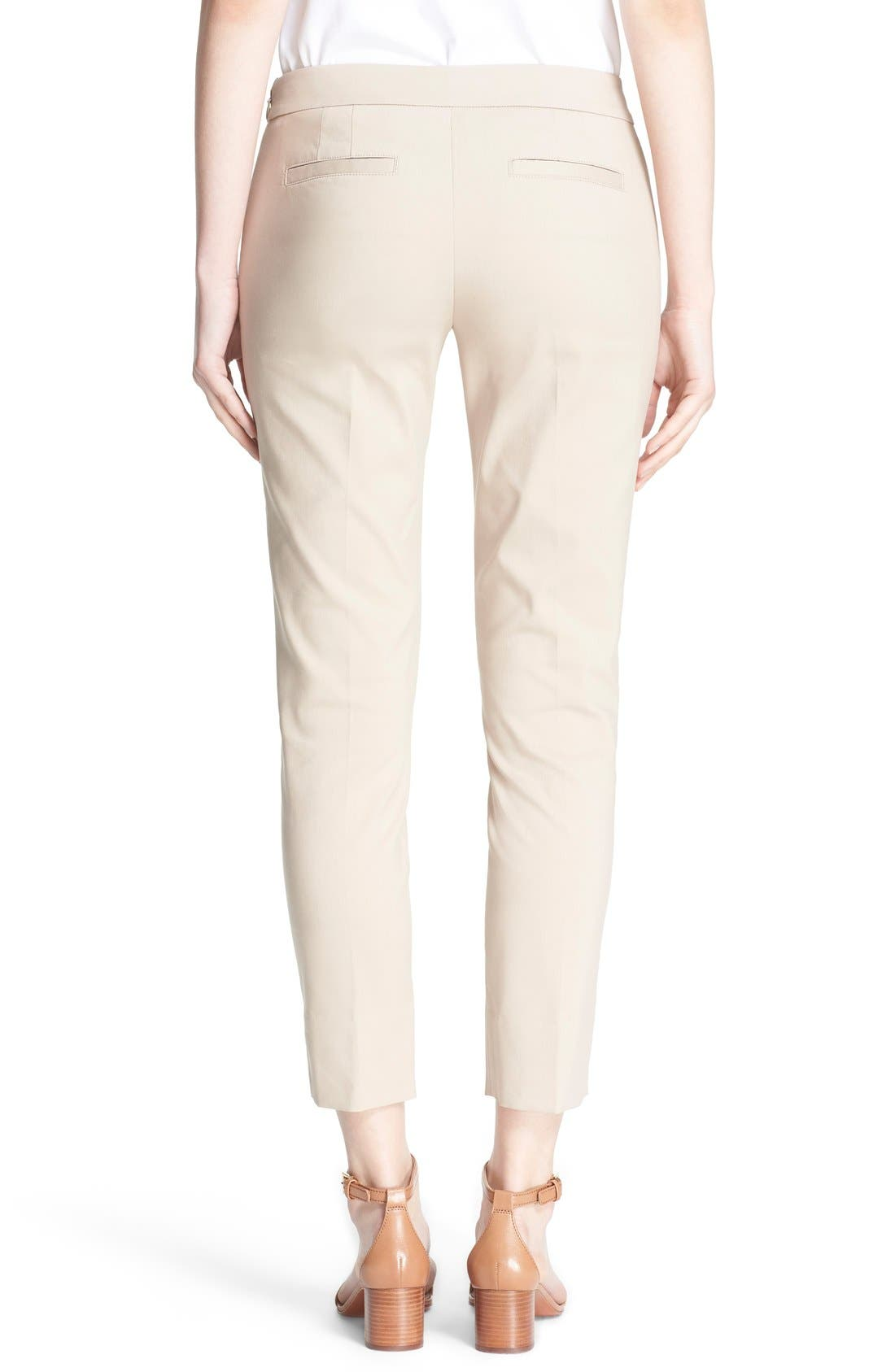 Alternate Image 2  - Tory Burch 'Callie' Seamed Crop Pants