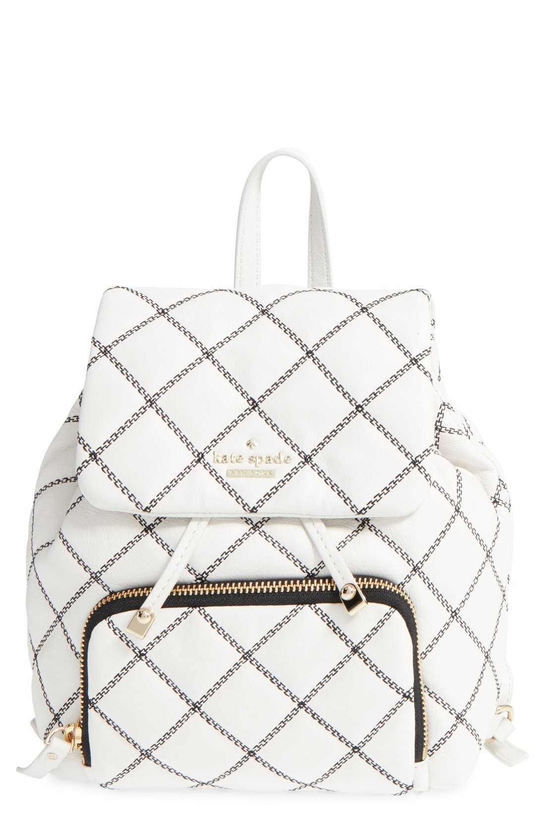 Main Image - kate spade new york 'emerson place - jessa' quilted leather backpack