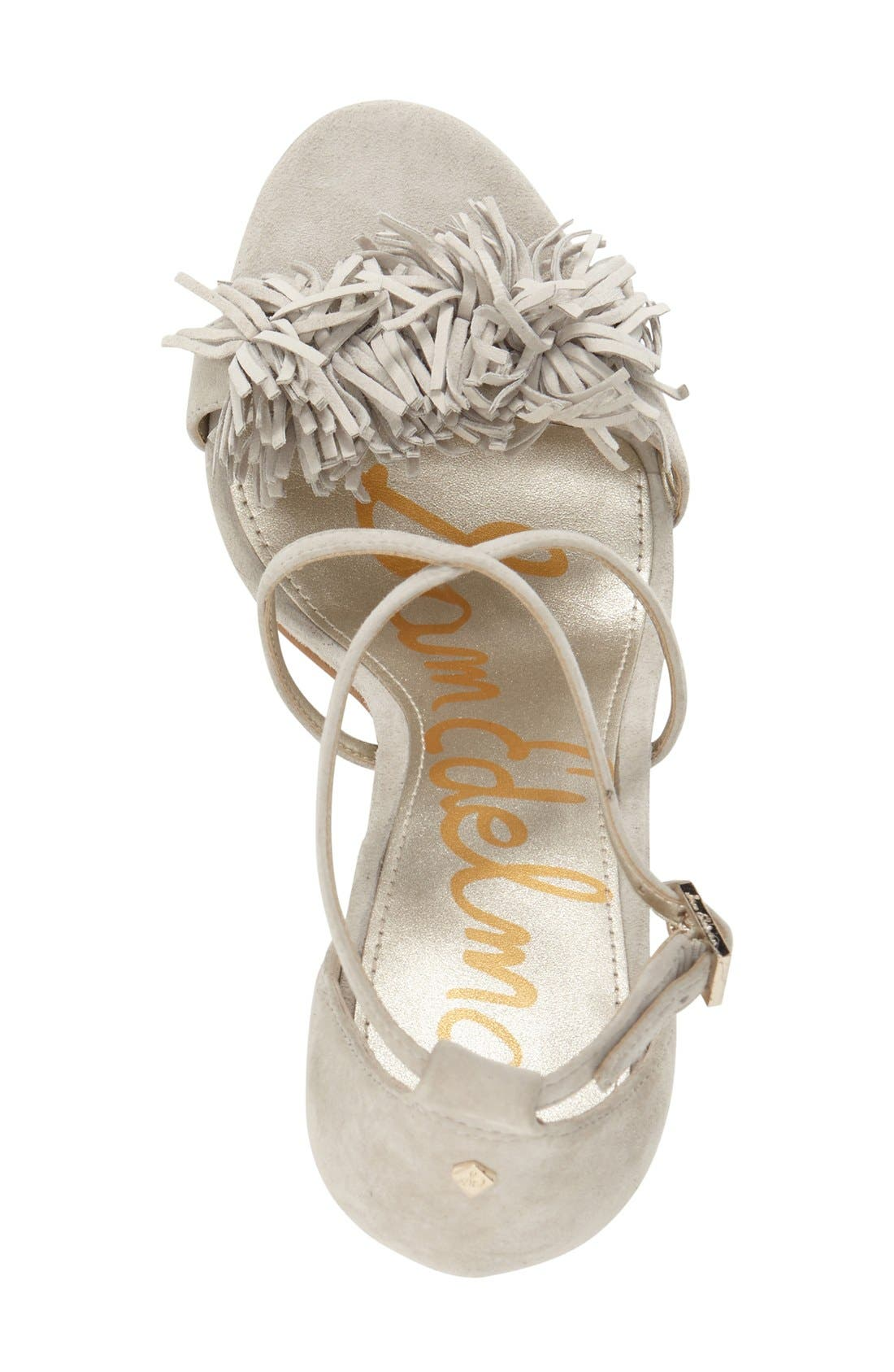 Alternate Image 3  - Sam Edelman 'Aisha' Fringe Sandal (Women)