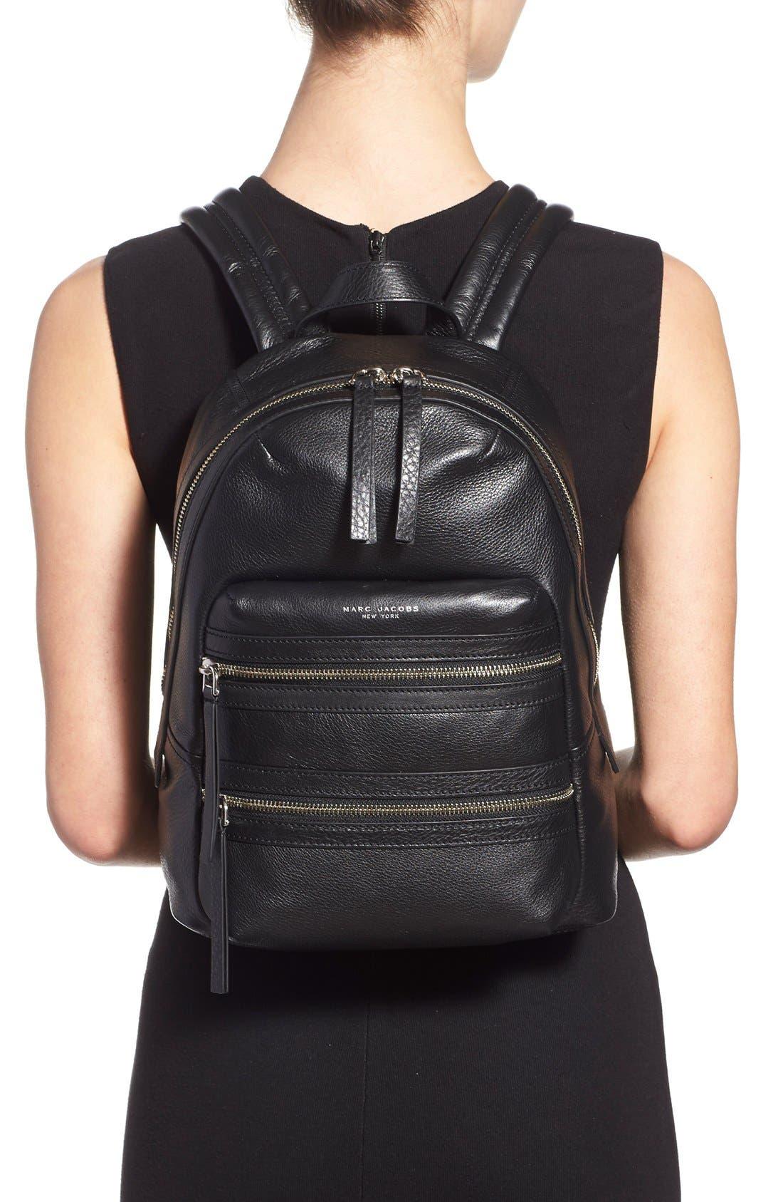 Alternate Image 2  - MARC JACOBS 'Biker' Leather Backpack
