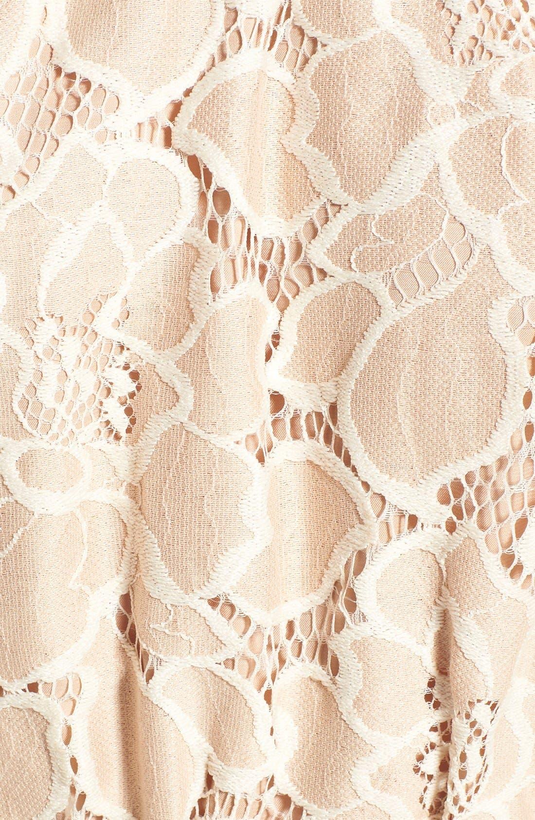 Alternate Image 6  - Tularosa 'Hadley' Off the Shoulder Lace Crop Top