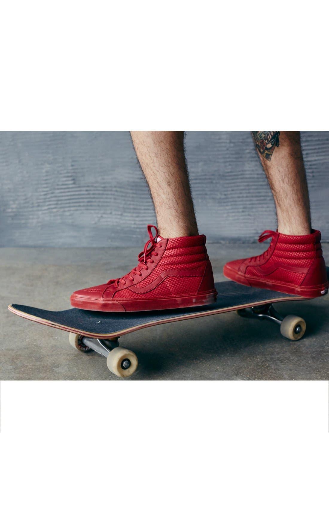 Alternate Image 5  - Vans 'Sk8-Hi Reissue Plus' Sneaker (Men)
