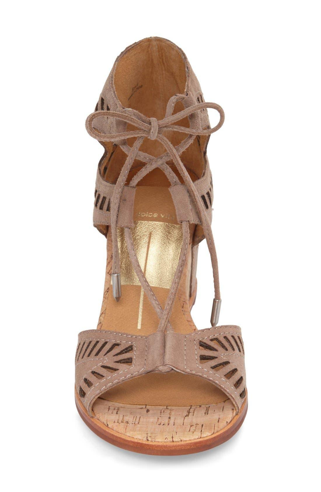 Alternate Image 3  - Dolce Vita 'Linsey' Lace-Up Wedge Sandal (Women)