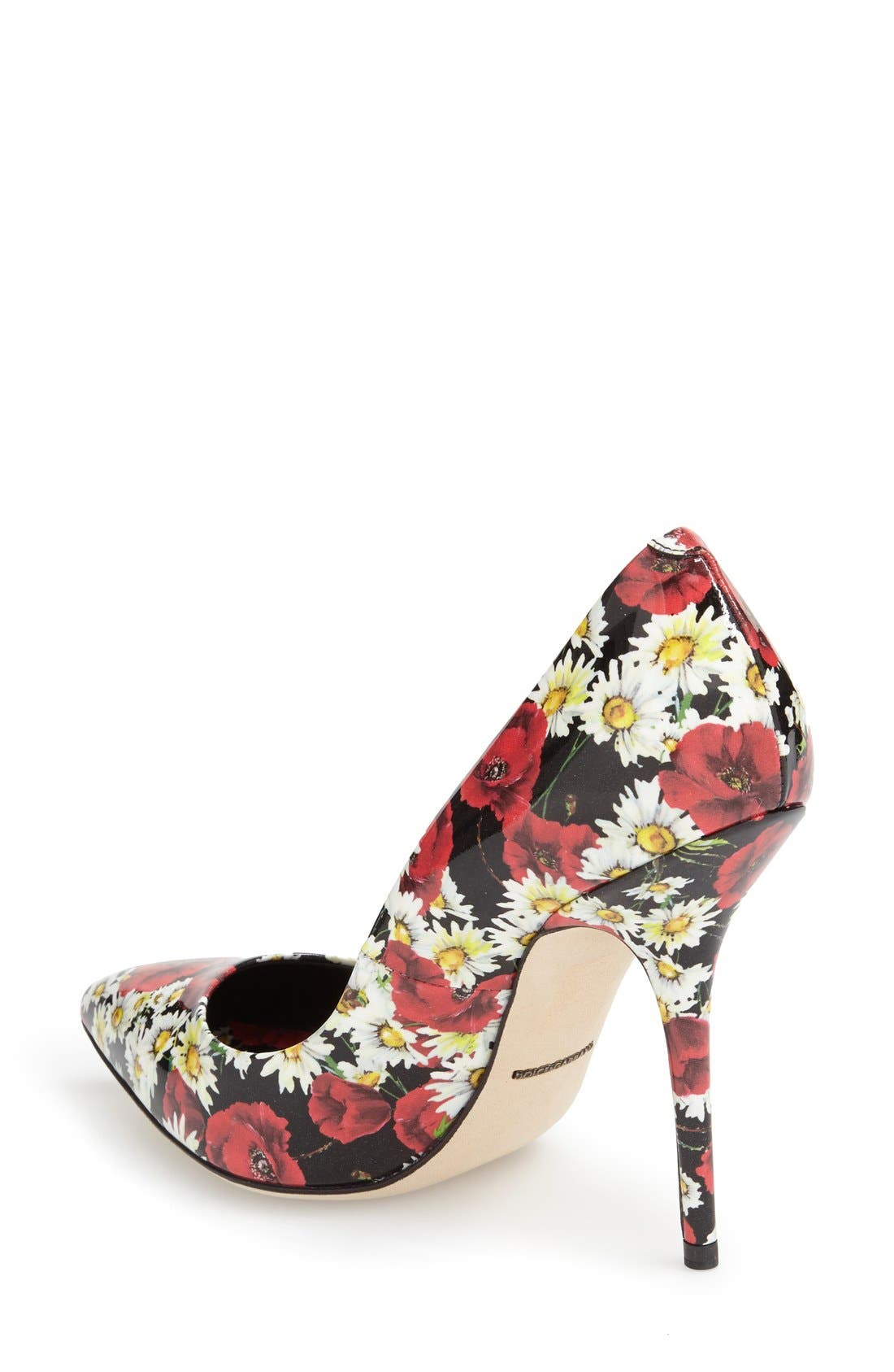 Alternate Image 2  - Dolce&Gabbana Floral Pump (Women)