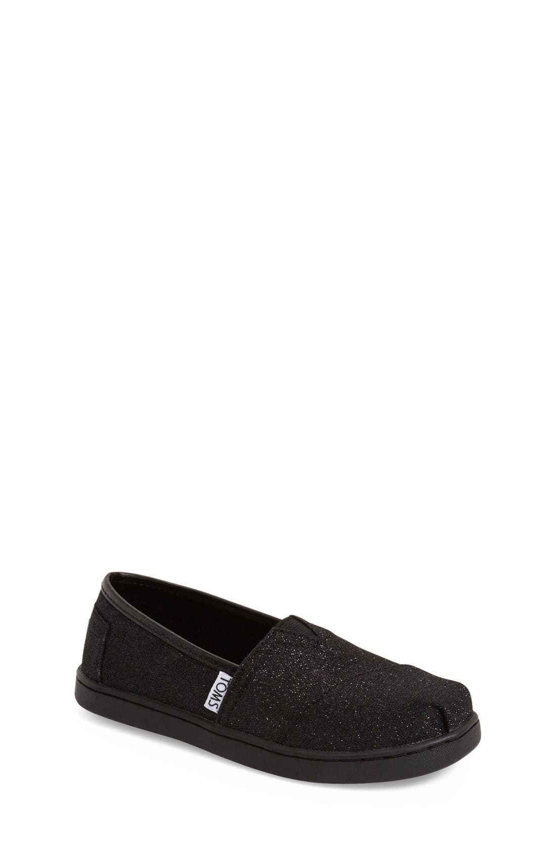 TOMS 'Glimmer' Slip-On (Toddler, Little Kid & Big Kid)