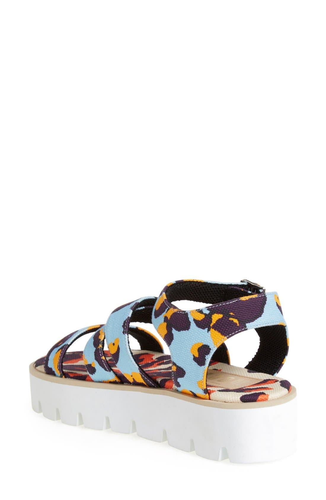 Alternate Image 2  - MSGM Platform Sandal (Women)