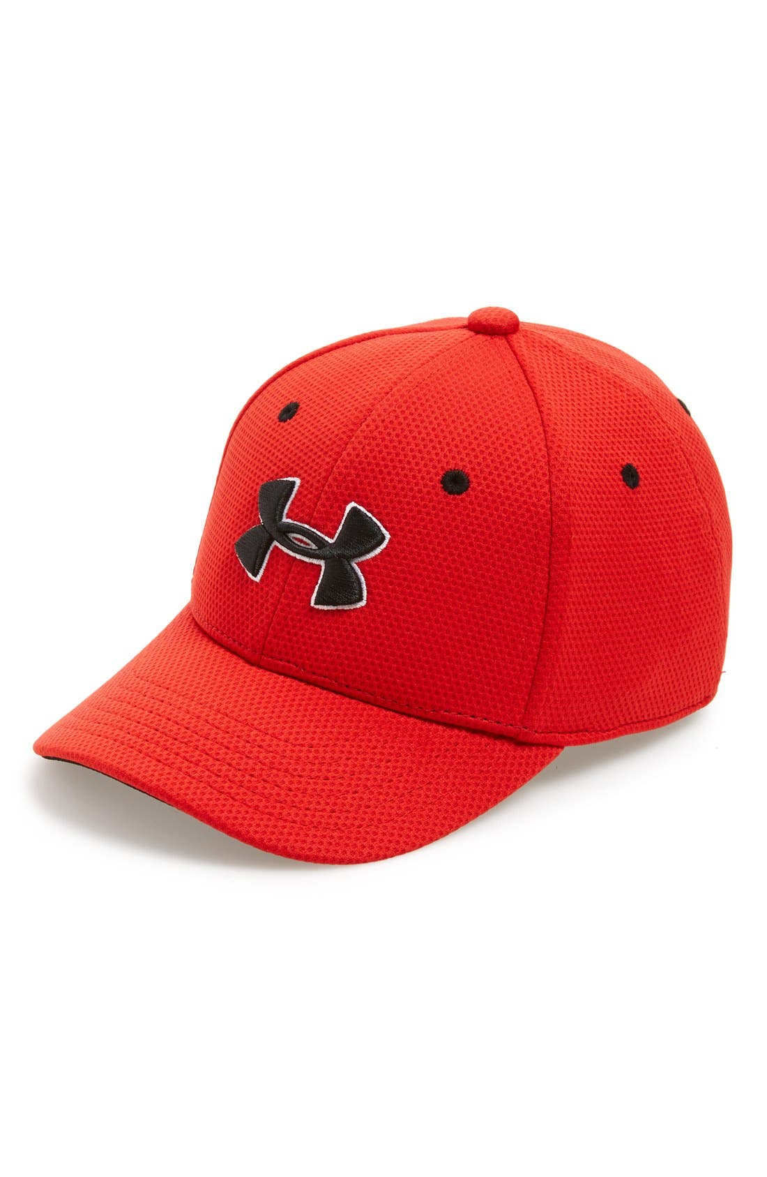 Under Armour 'Blitzing 2.0' Stretch Fit Baseball Cap (Big Boys)