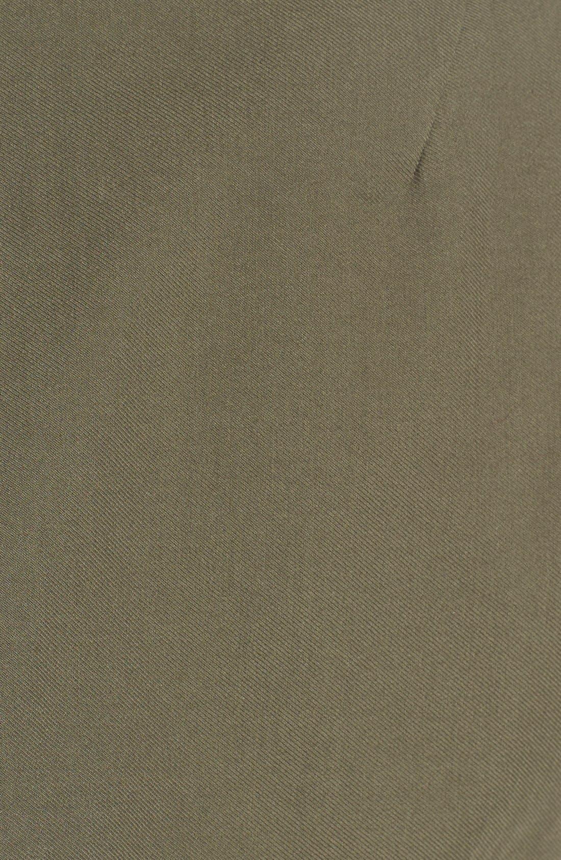 Alternate Image 6  - Olivia Palermo + Chelsea28 Long Military Vest