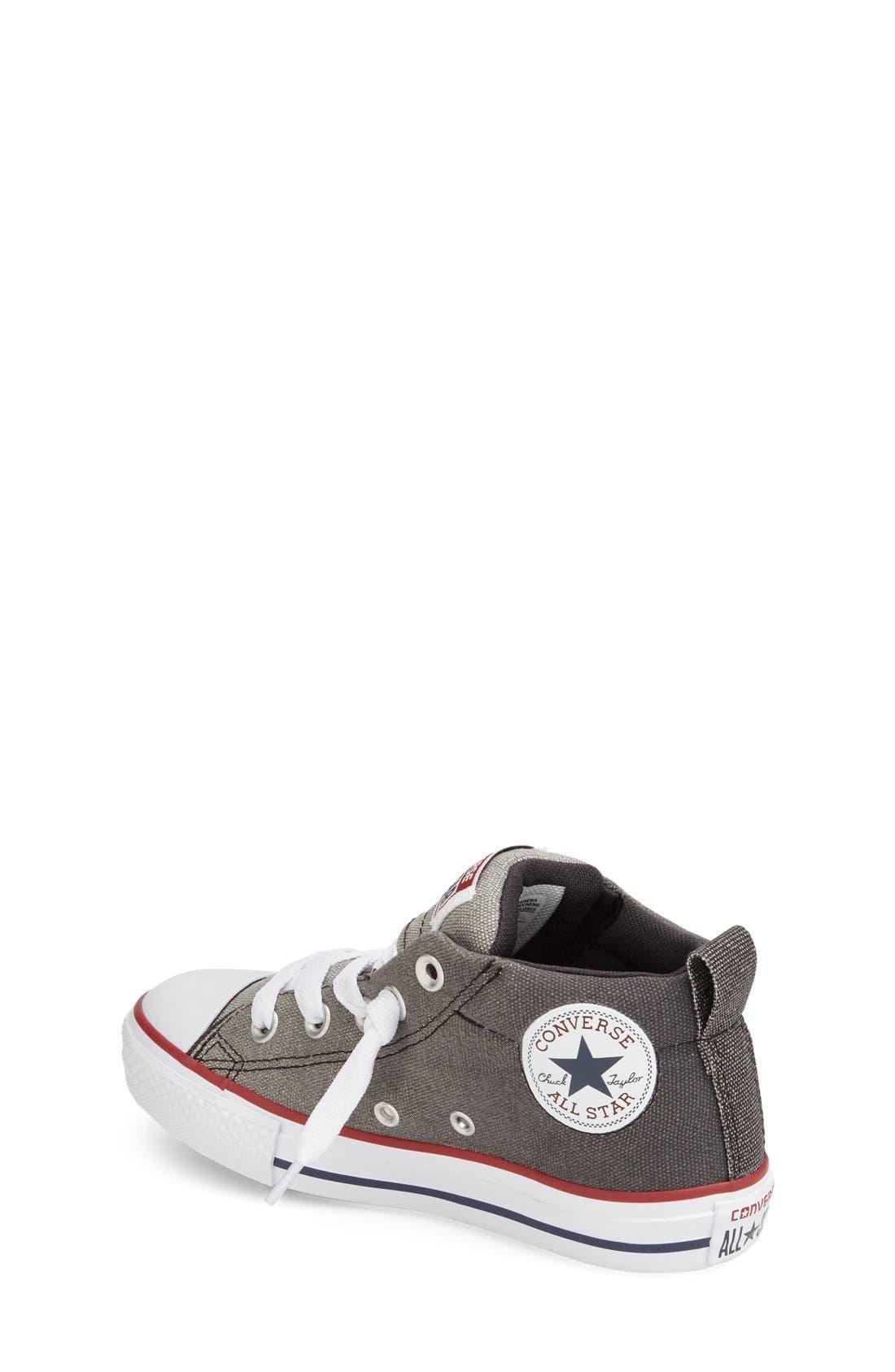 Alternate Image 2  - Converse Chuck Taylor® All Star® 'CTAS Street' Mid Sneaker (Baby, Walker, Toddler Little Kid & Big Kid)