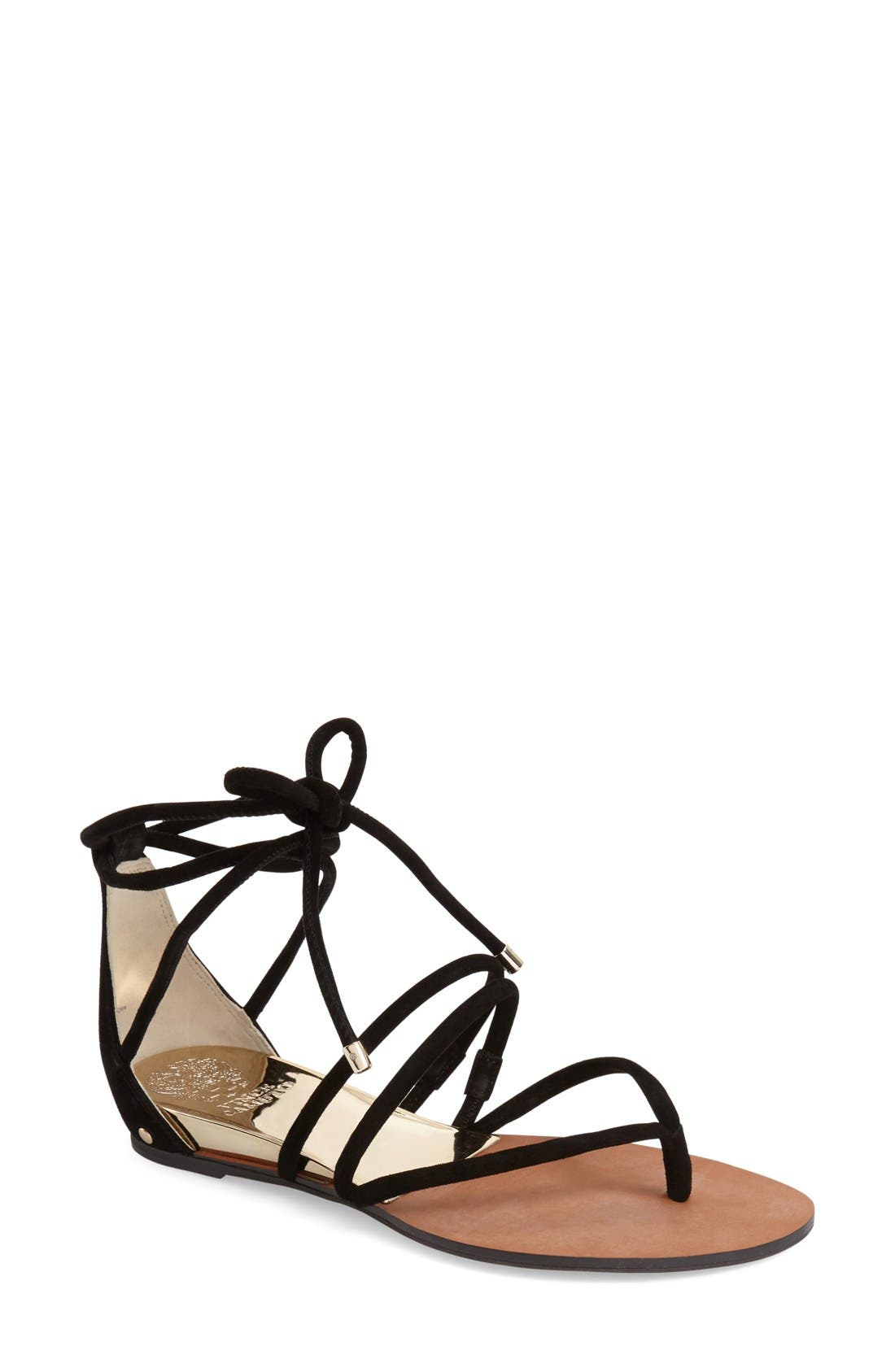 Alternate Image 1 Selected - Vince Camuto 'Adalson' Strappy Thong Sandal (Women)