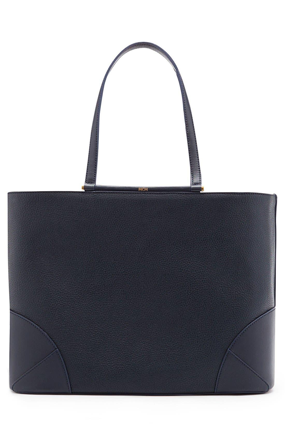 Alternate Image 2  - MCM 'Medium Claudia' Leather Shopper