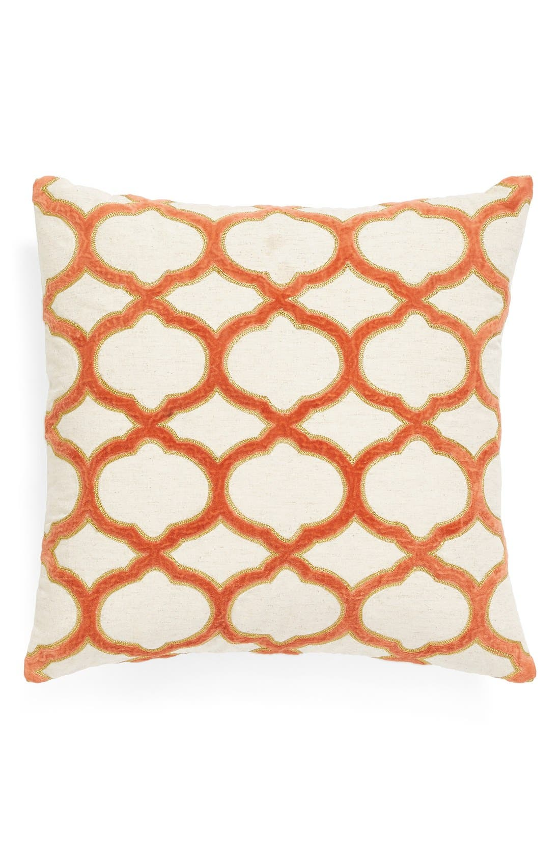 Alternate Image 1 Selected - Nordstrom at Home 'Velvet Trellis' Pillow