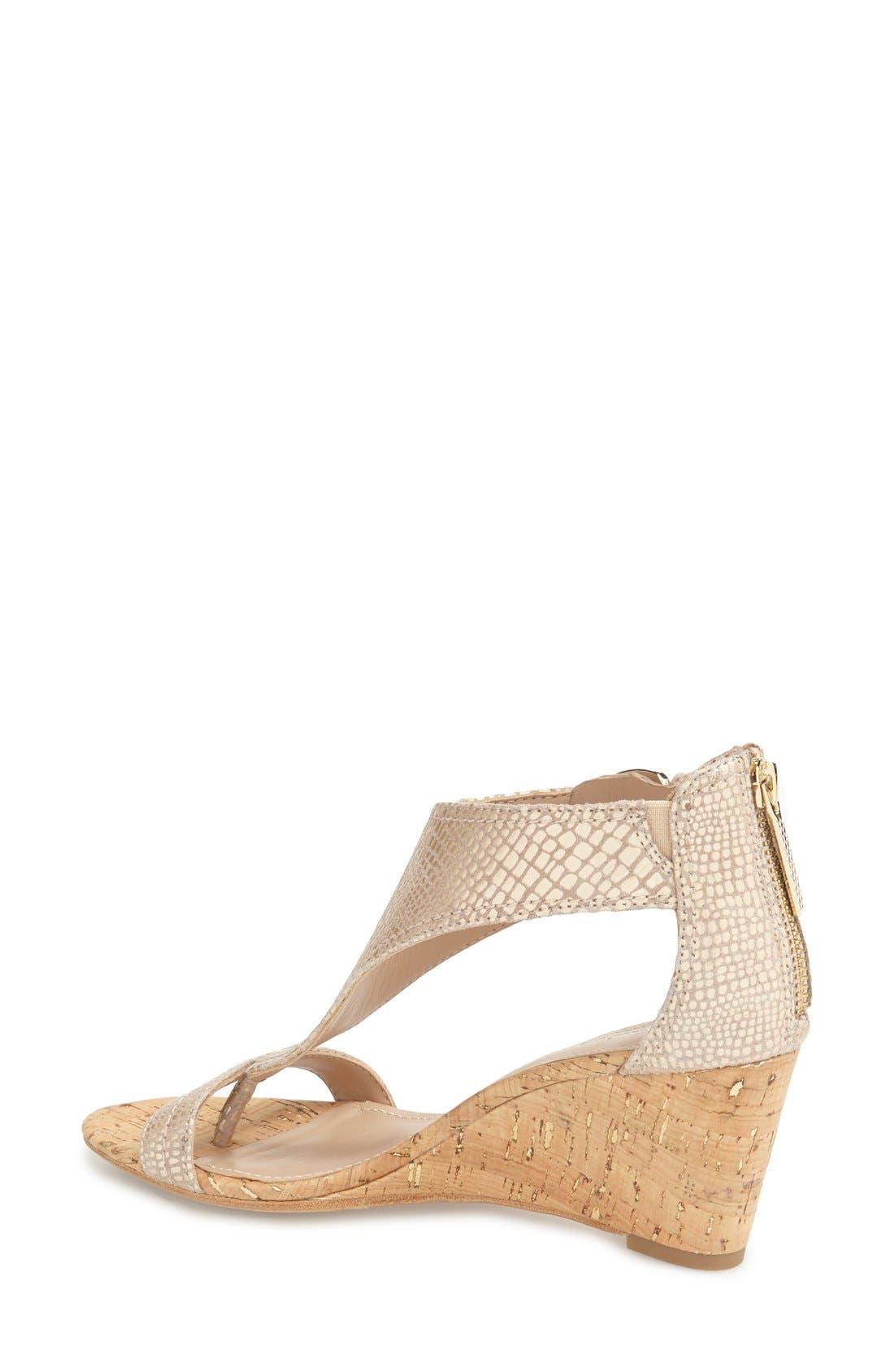 Alternate Image 2  - Donald J Pliner 'June' T-Strap Wedge Sandal (Women)