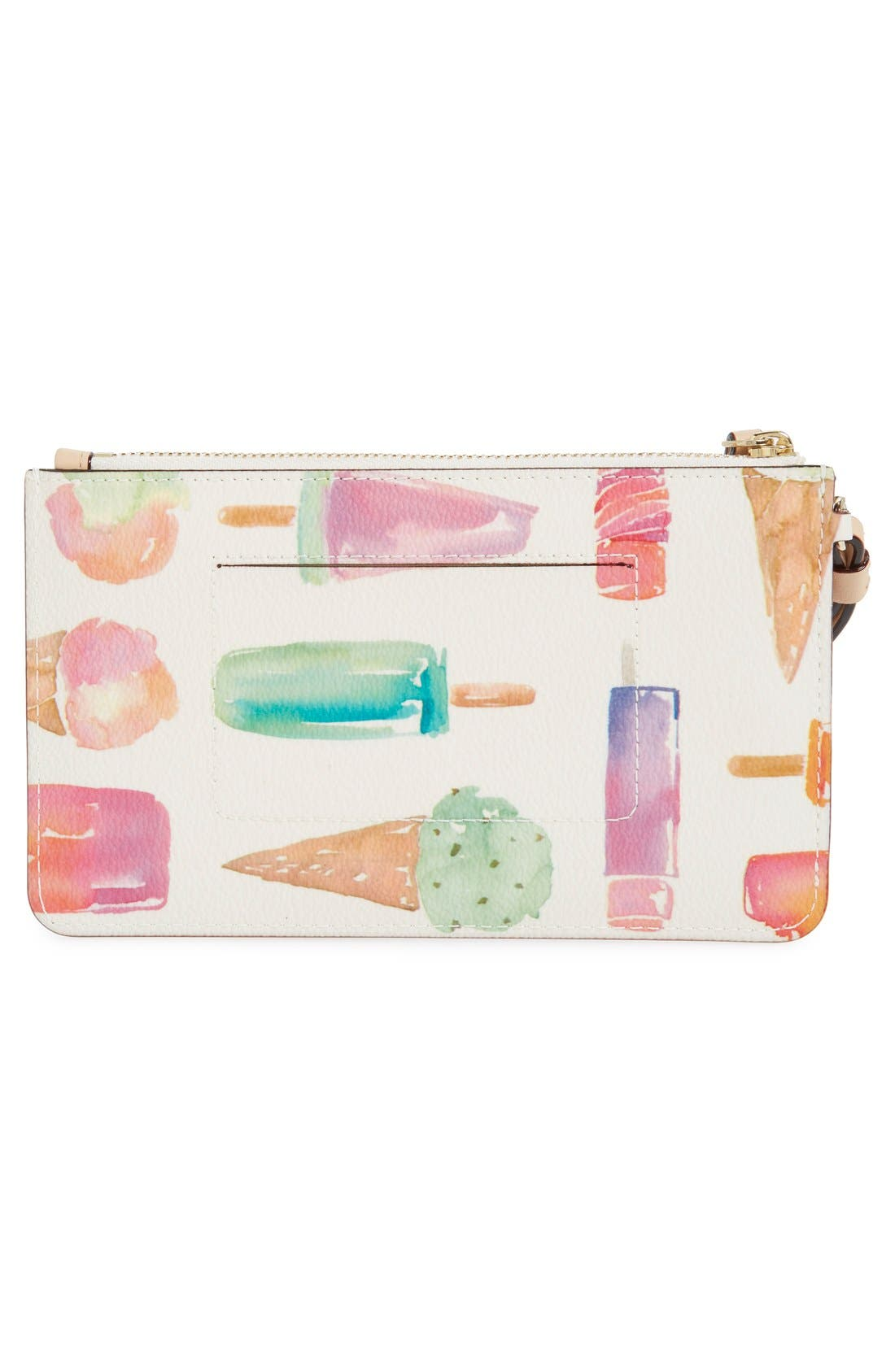Alternate Image 3  - kate spade new york 'cedar street - slim bee' ice pop print wristlet