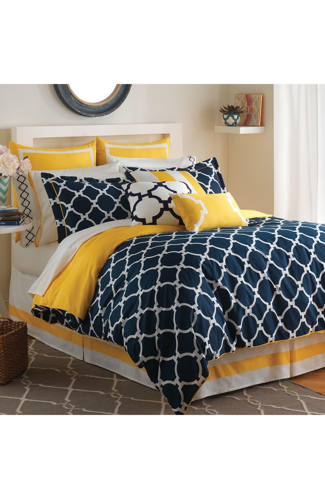 JILL ROSENWALD Hampton Links Reversible Comforter, Sham &