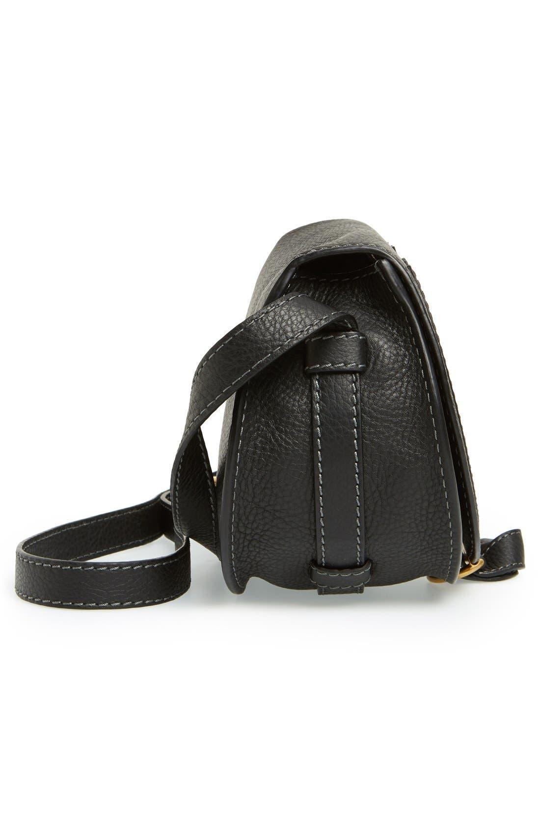 Alternate Image 5  - Chloé 'Mini Marcie' Leather Crossbody Bag