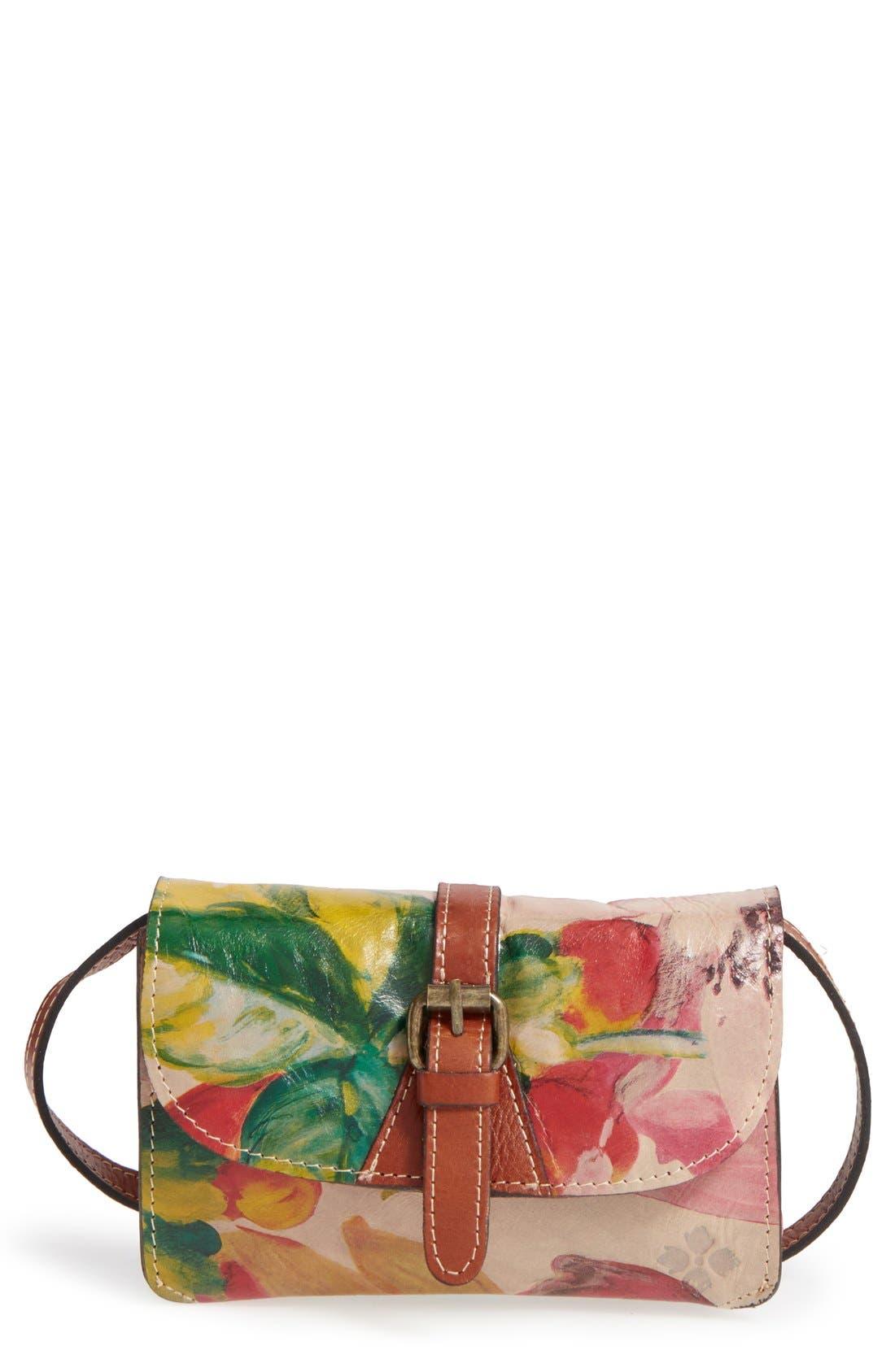 Alternate Image 1 Selected - Patricia Nash 'Torri' Italian Leather Crossbody Bag