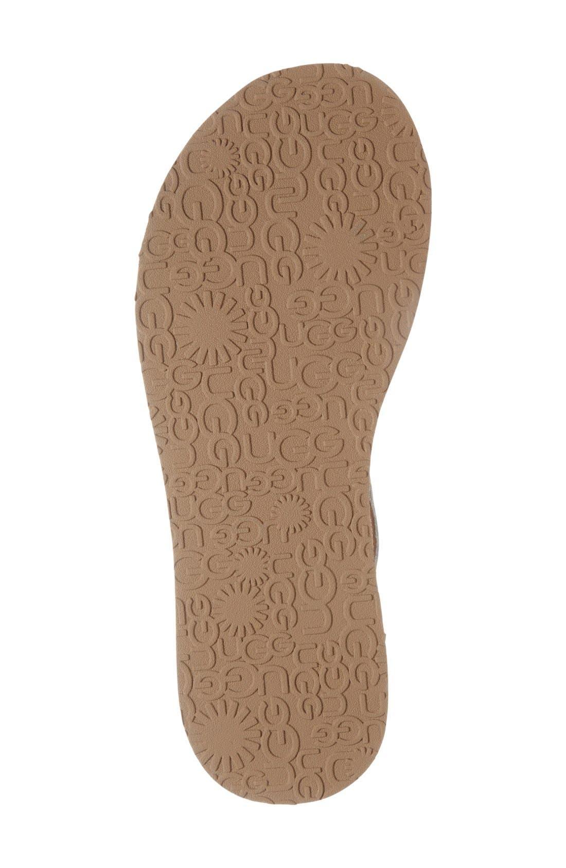 Alternate Image 4  - UGG® 'Jordyne' Sandal (Women)
