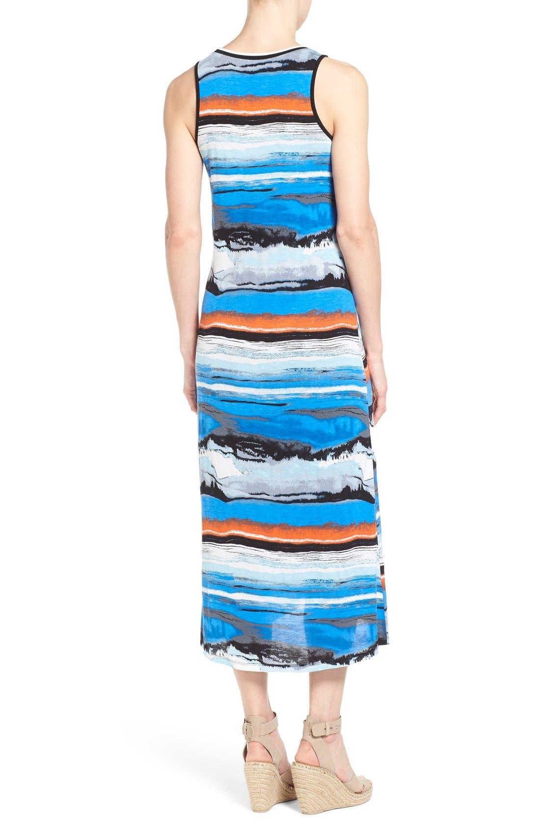 Alternate Image 2  - kensie Print Maxi Dress