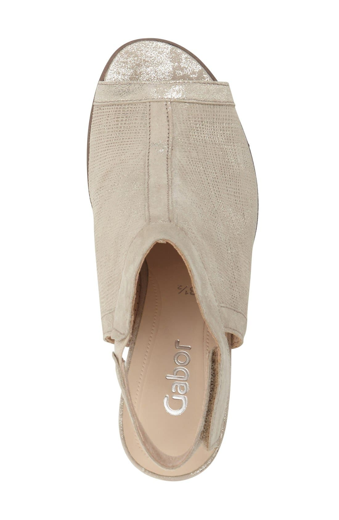 Alternate Image 3  - Gabor Open Toe Leather Sandal (Women)