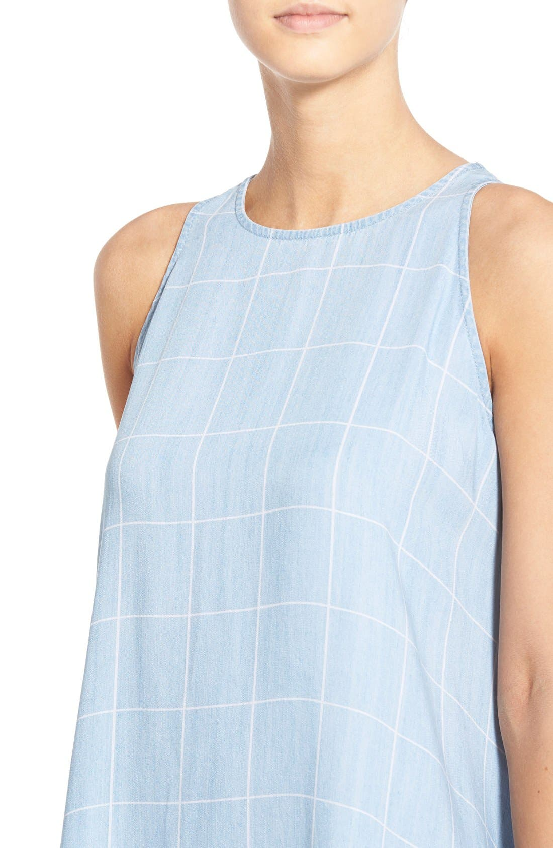 Alternate Image 4  - Rails 'Anya' Check Chambray Shift Dress