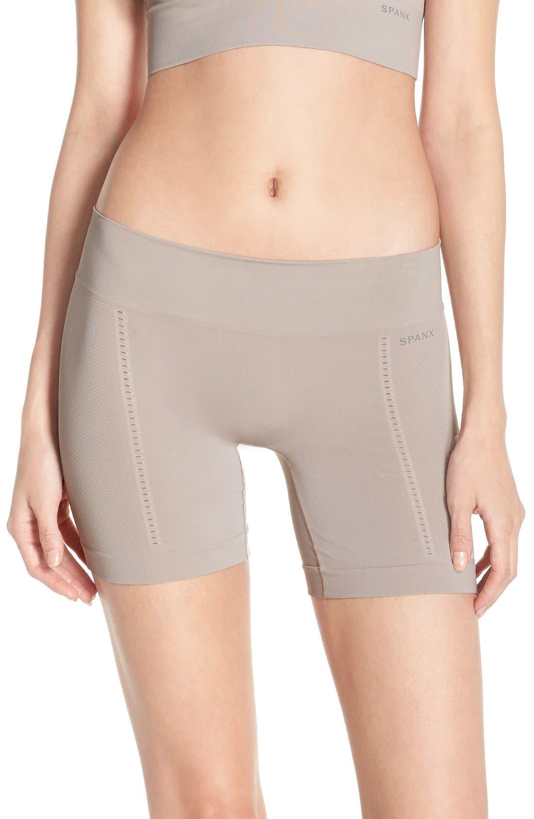 SPANX® Lounge-Hooray! Mid-Thigh Shorts