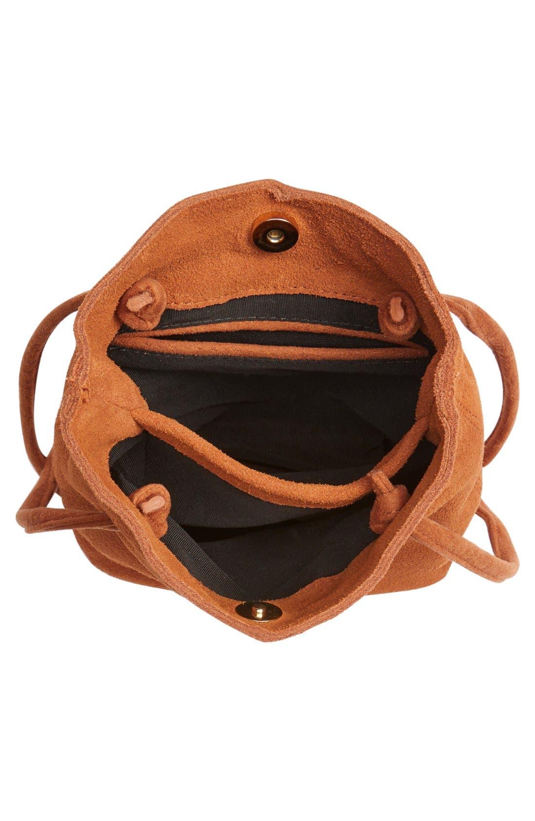 Alternate Image 4  - Street Level Suede Crossbody Bag