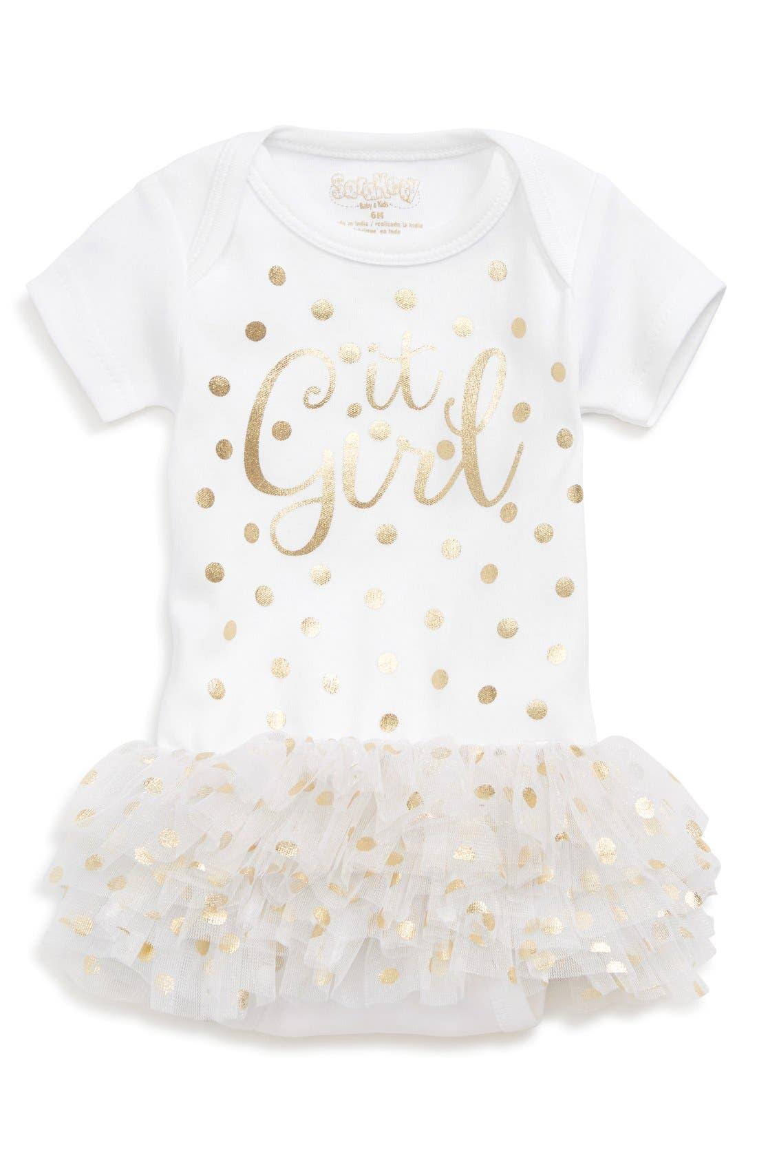 Sara Kety Baby & Kids 'It Girl' Tutu Bodysuit (Baby Girls)