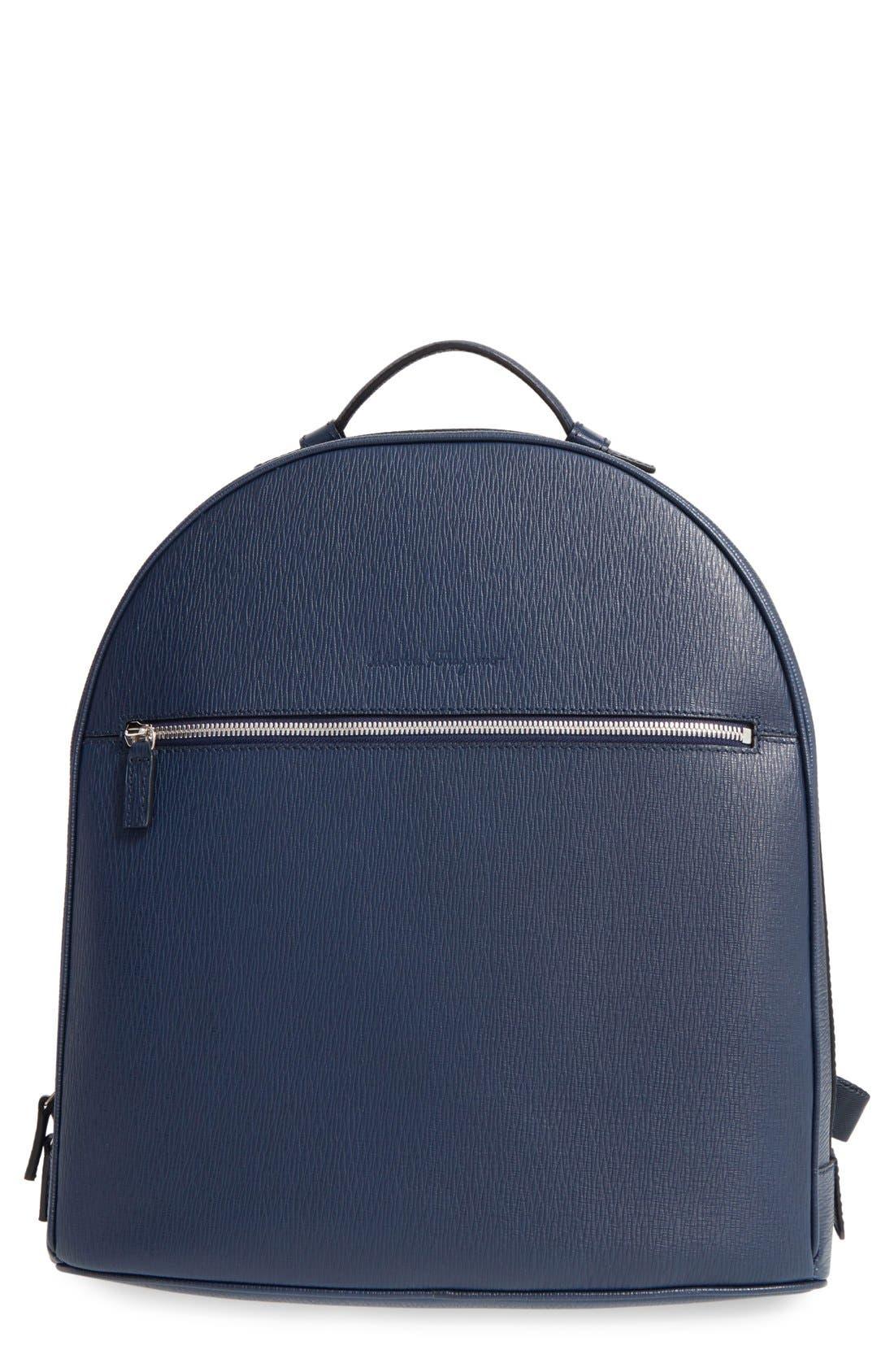 Salvatore Ferragamo 'Revival' Leather Backpack