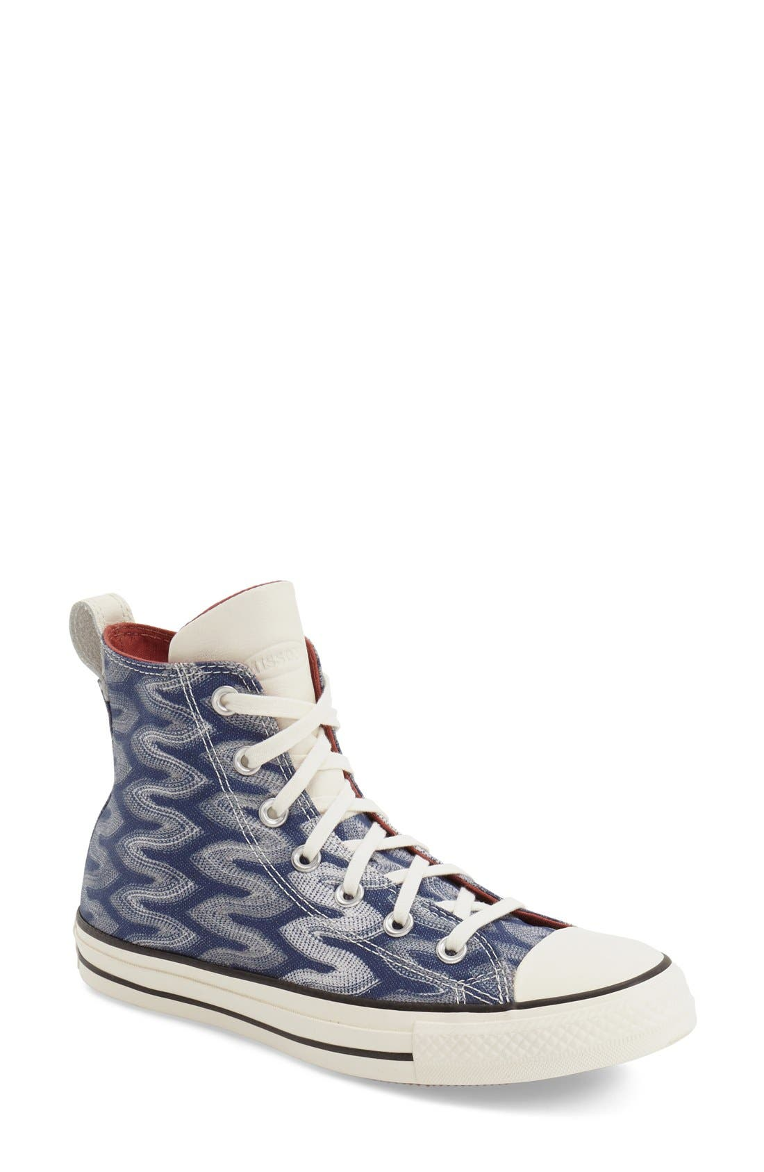 Alternate Image 1 Selected - Converse x Missoni Chuck Taylor® All Star® 'Flame' High Top Sneaker (Women)