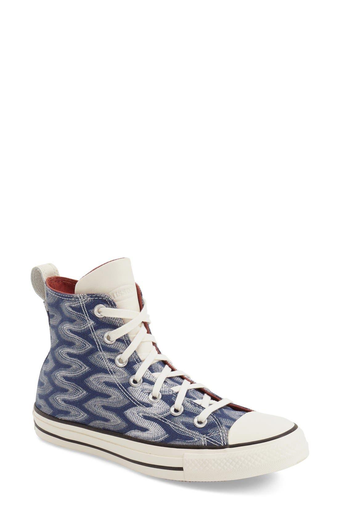 Main Image - Converse x Missoni Chuck Taylor® All Star® 'Flame' High Top Sneaker (Women)