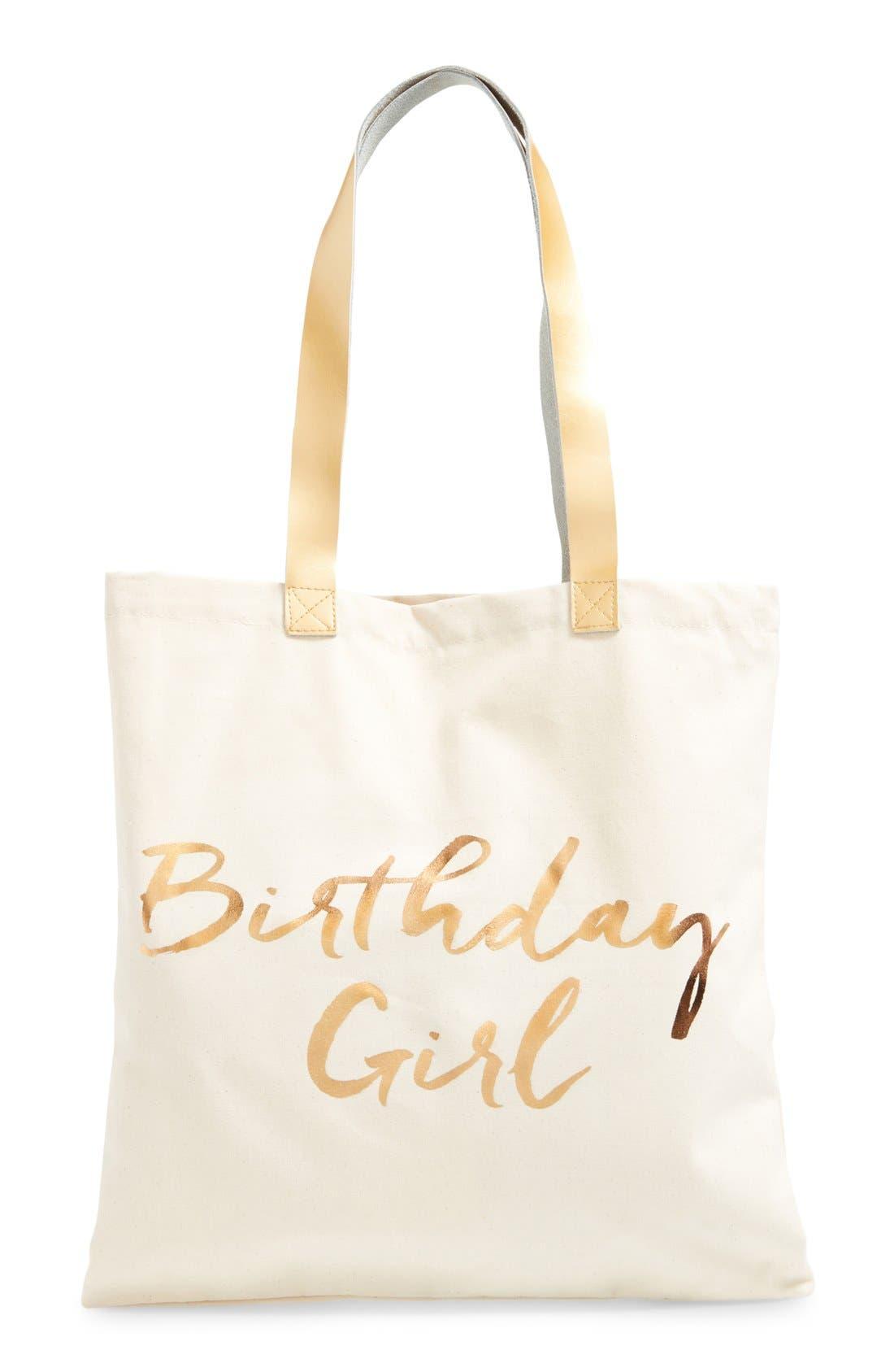 Alternate Image 2  - Rosanna 'Birthday Girl' Canvas Tote