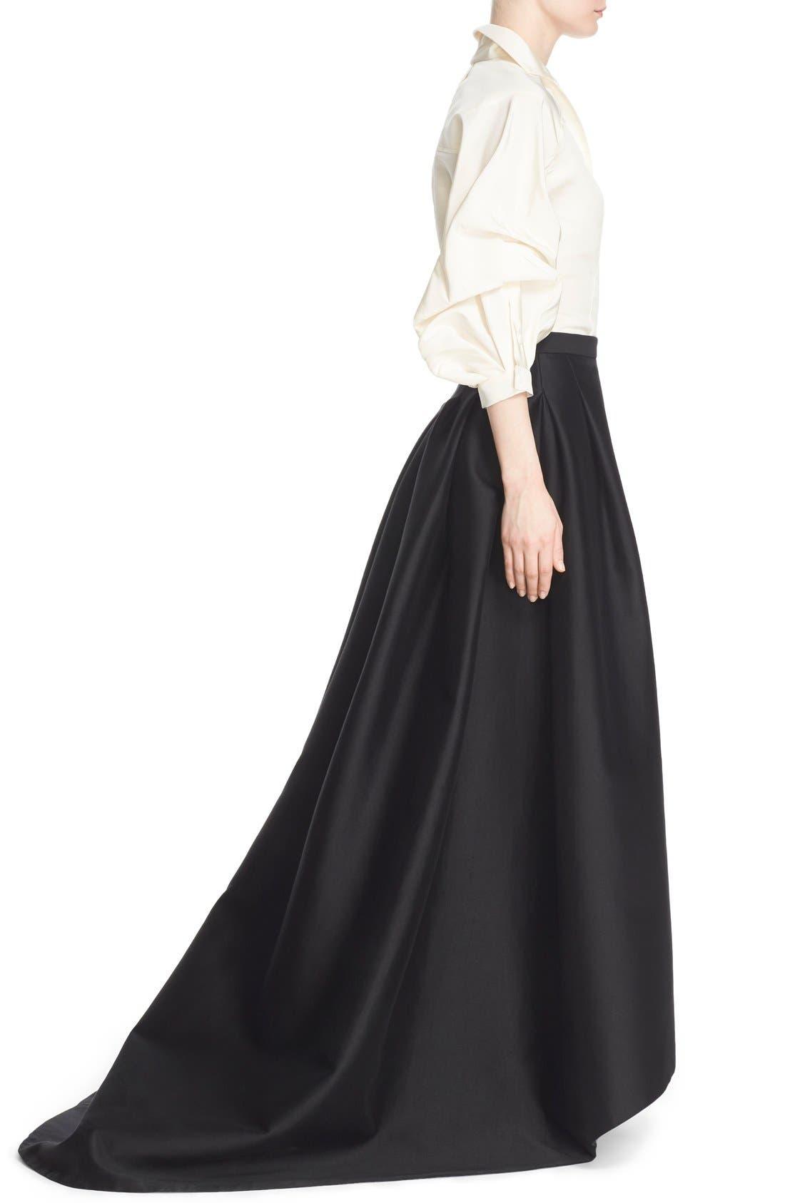 Alternate Image 6  - Carolina Herrera Full Sleeve Silk Blouse